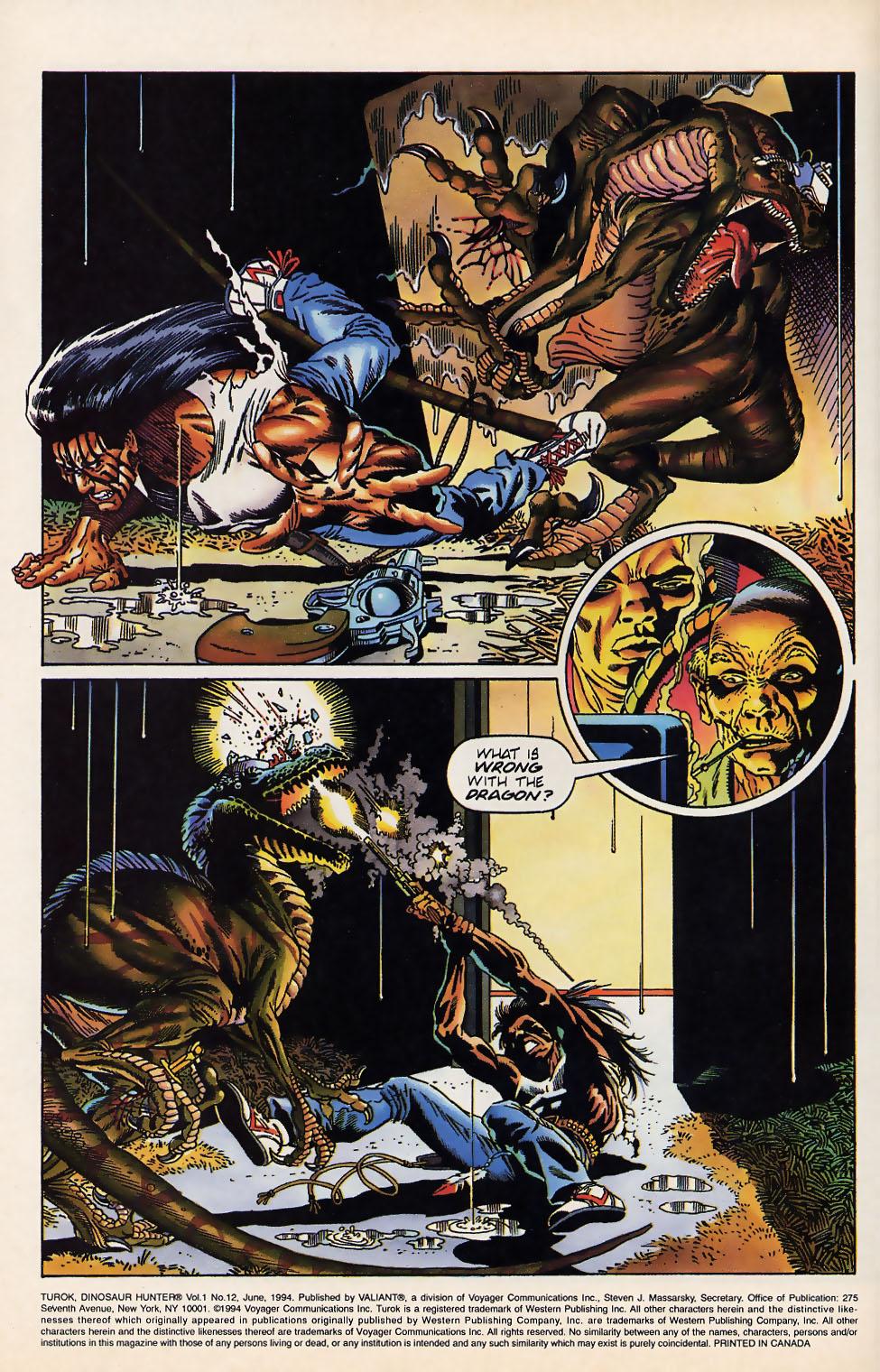 Read online Turok, Dinosaur Hunter (1993) comic -  Issue #12 - 6
