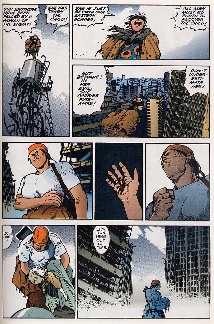 Read online Akira comic -  Issue #19 - 56