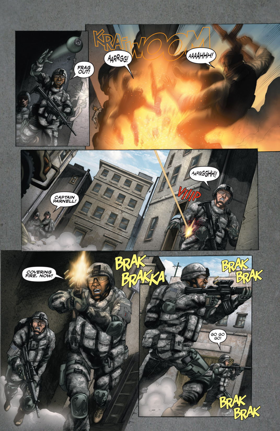 Read online America's Army comic -  Issue #13 - 16