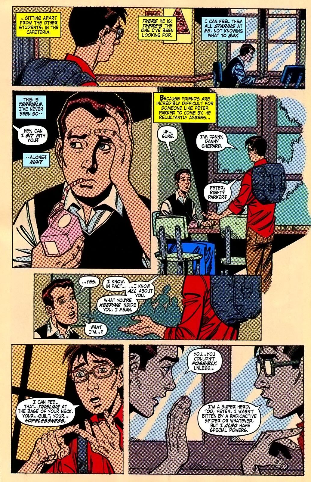 Read online Amazing Fantasy (2004) comic -  Issue #15 - 37