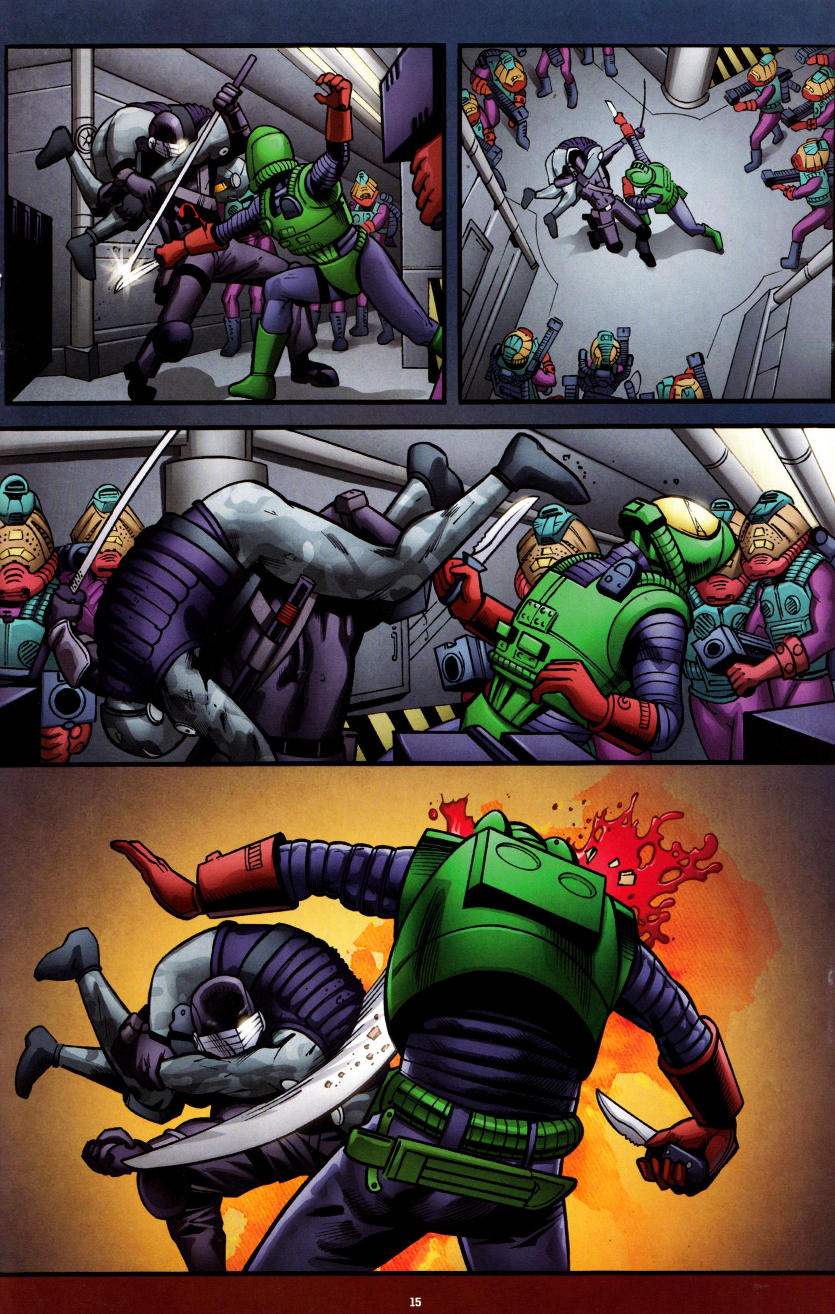 Read online G.I. Joe: Snake Eyes comic -  Issue #8 - 18