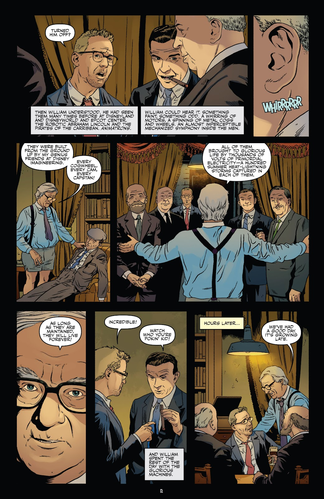 Read online Shadow Show: Stories in Celebration of Ray Bradbury comic -  Issue #3 - 14