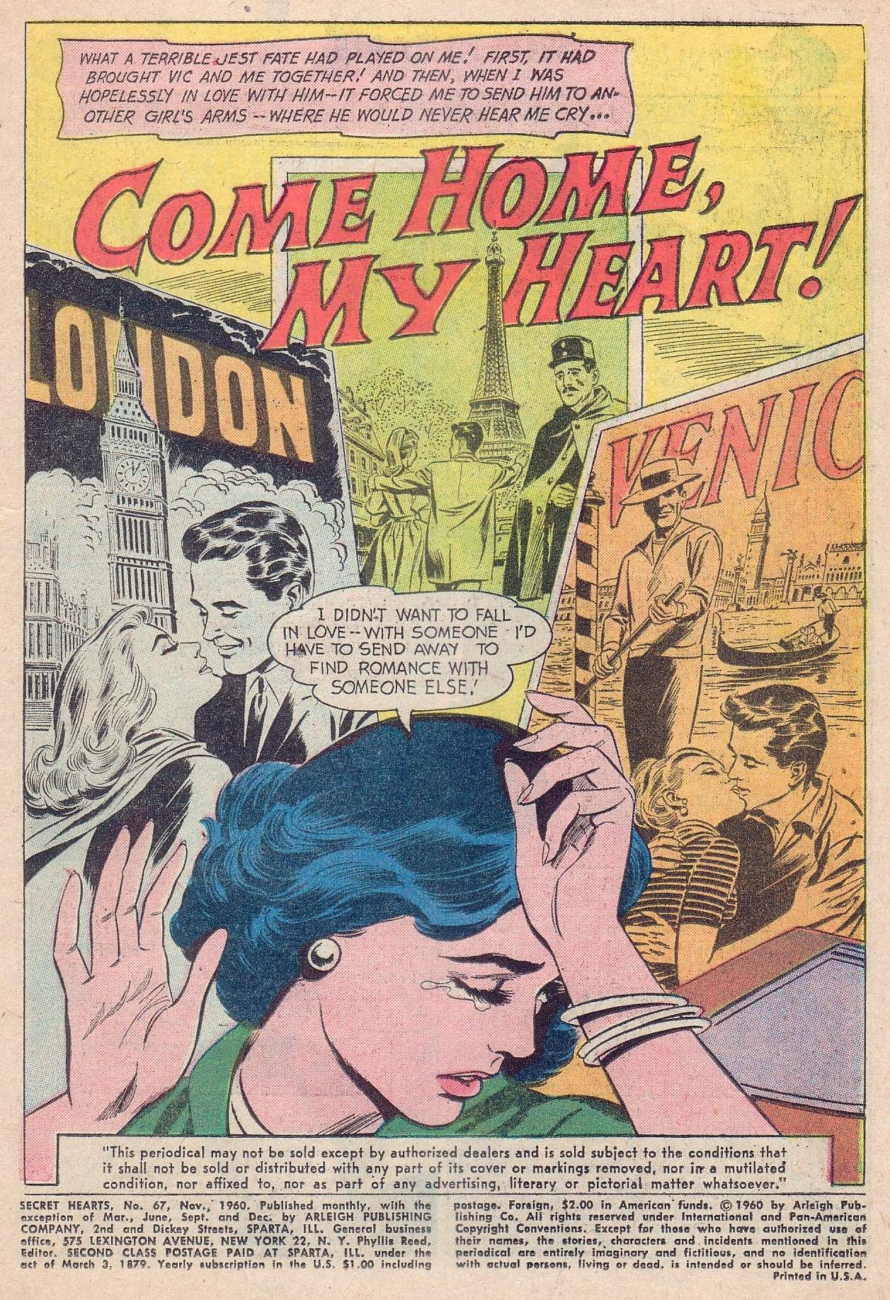 Read online Secret Hearts comic -  Issue #67 - 3