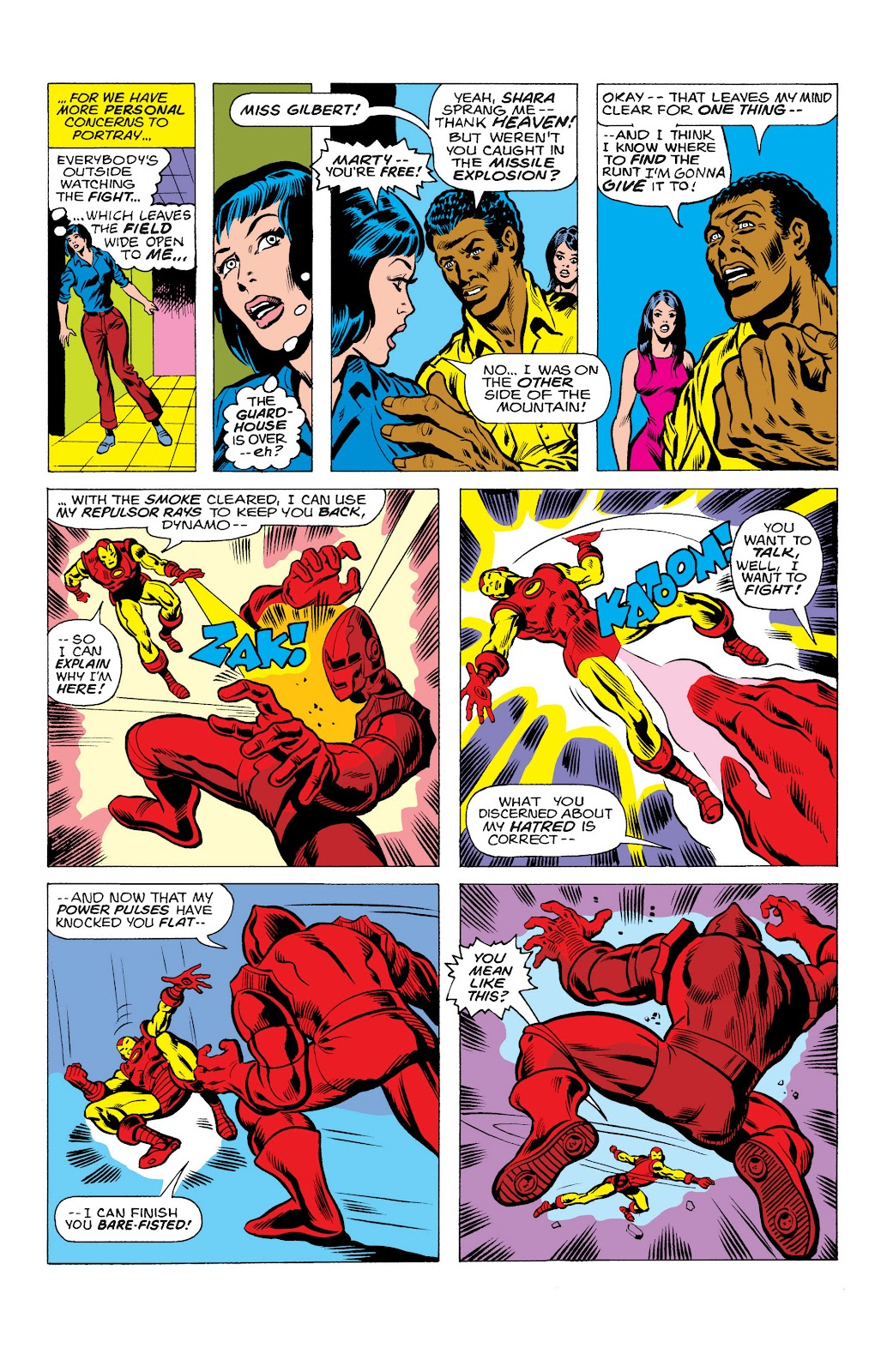 Read online Marvel Masterworks: The Invincible Iron Man comic -  Issue # TPB 10 (Part 2) - 11