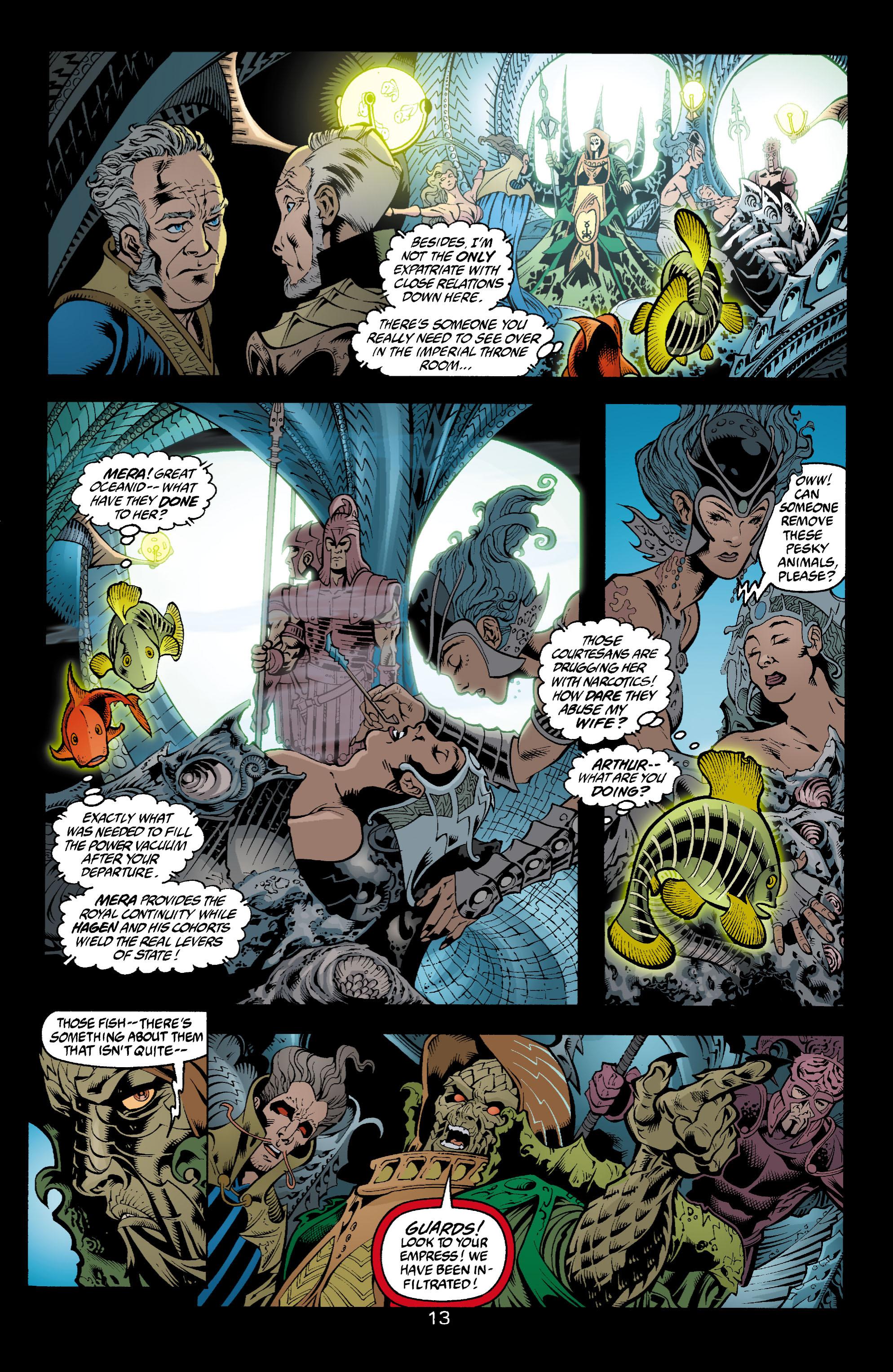Read online Aquaman (2003) comic -  Issue #4 - 14