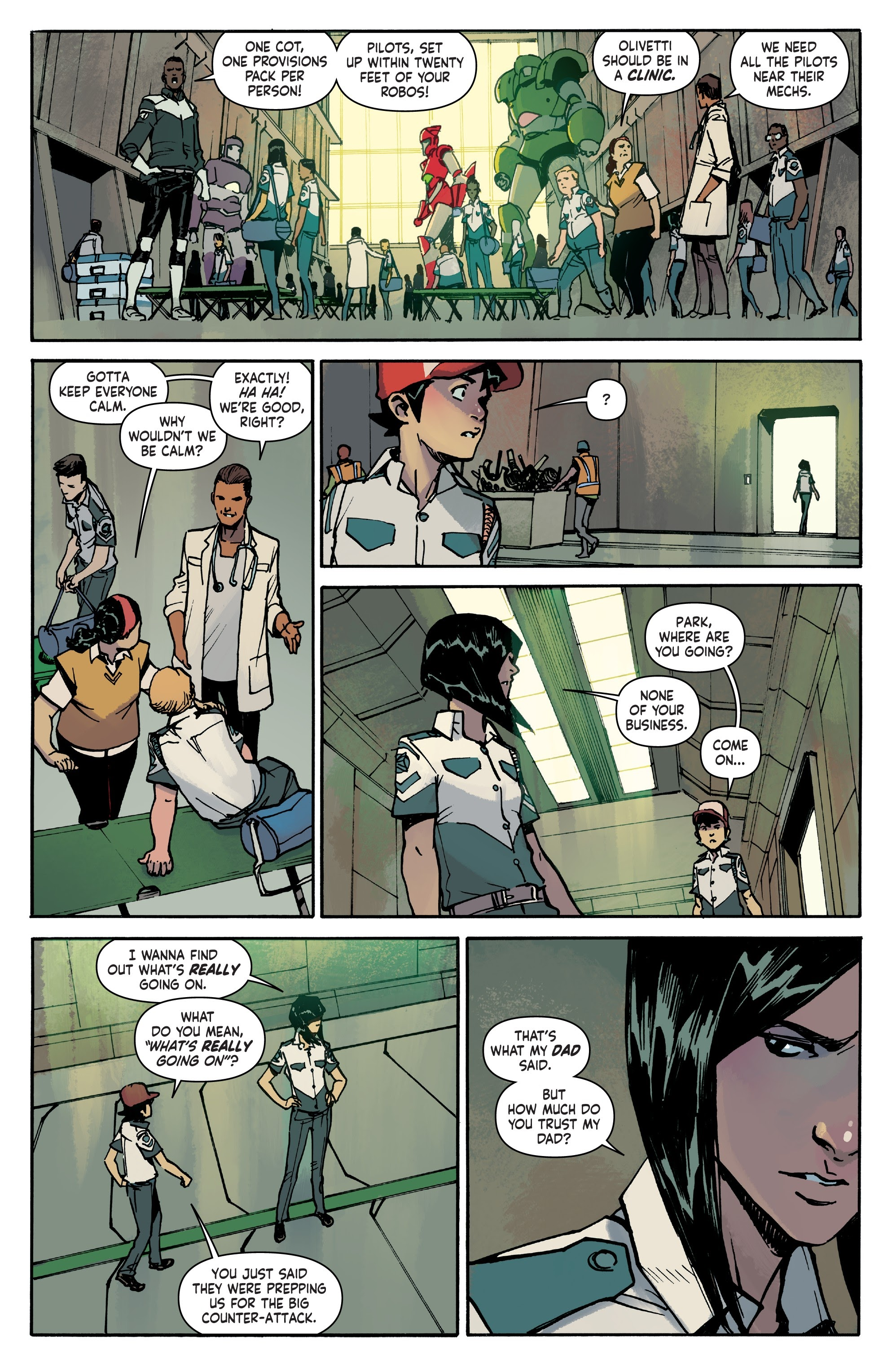 Mech Cadet Yu #_TPB_2 #15 - English 62