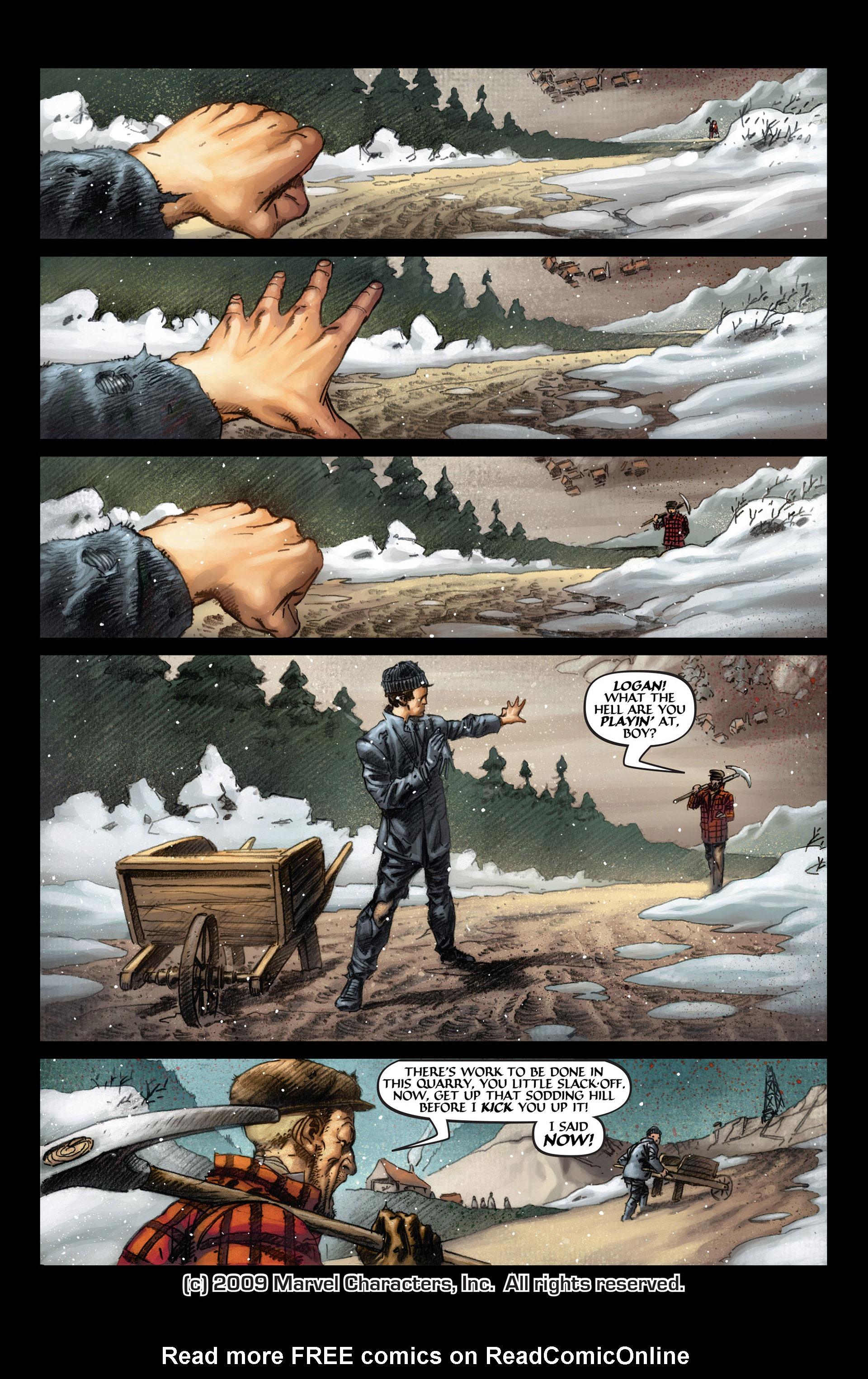 Read online Wolverine: The Origin comic -  Issue #4 - 2