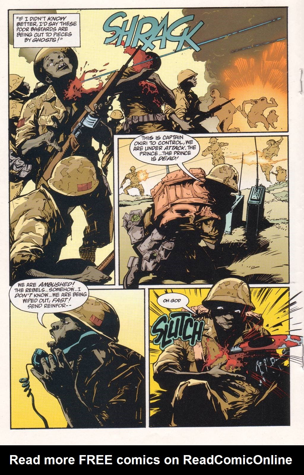 Aliens vs. Predator: Eternal issue 1 - Page 12
