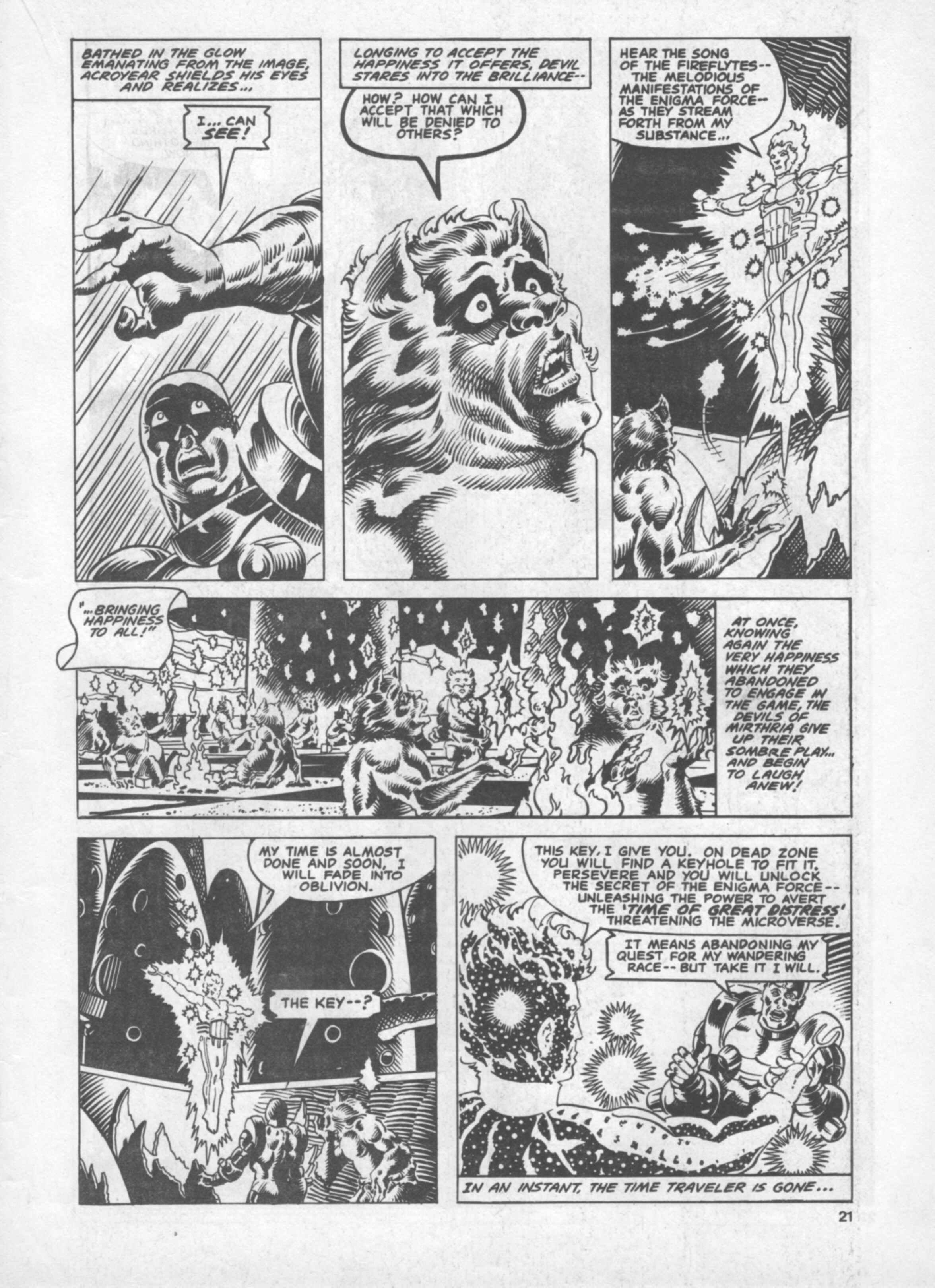 Read online Future Tense comic -  Issue #40 - 21