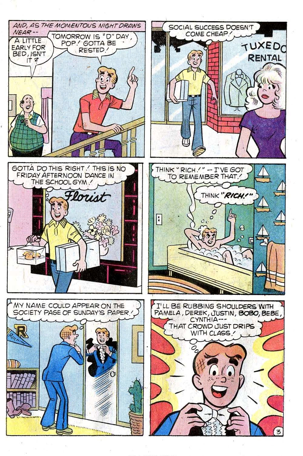 Read online Archie (1960) comic -  Issue #276 - 15