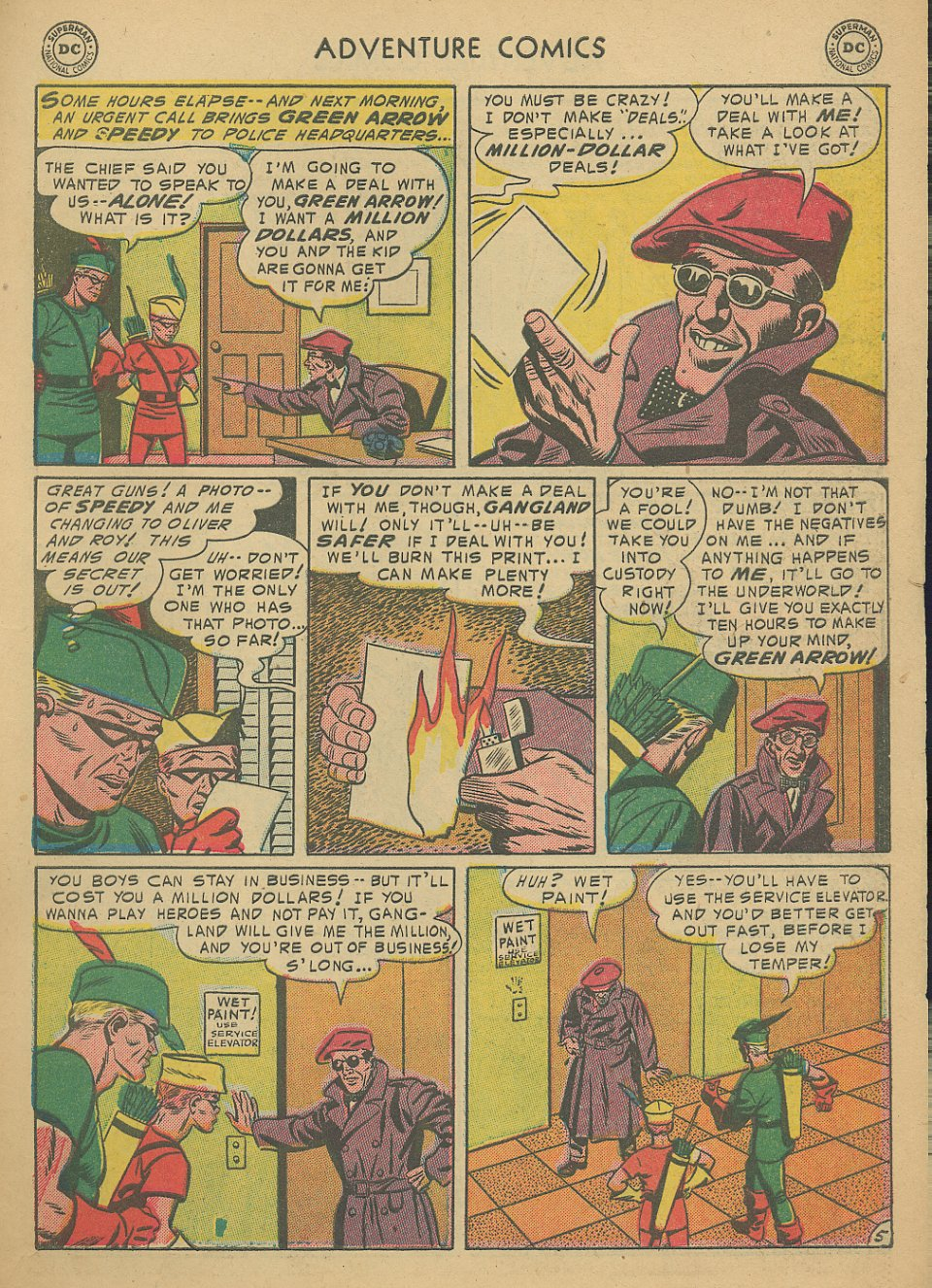 Read online Adventure Comics (1938) comic -  Issue #205 - 32