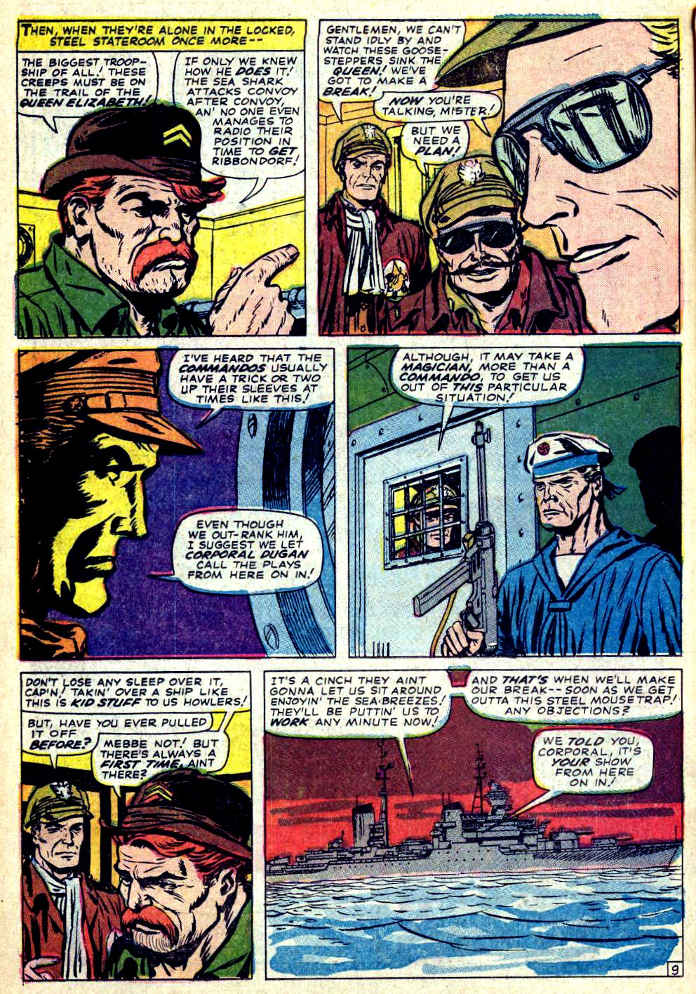 Read online Sgt. Fury comic -  Issue #26 - 14