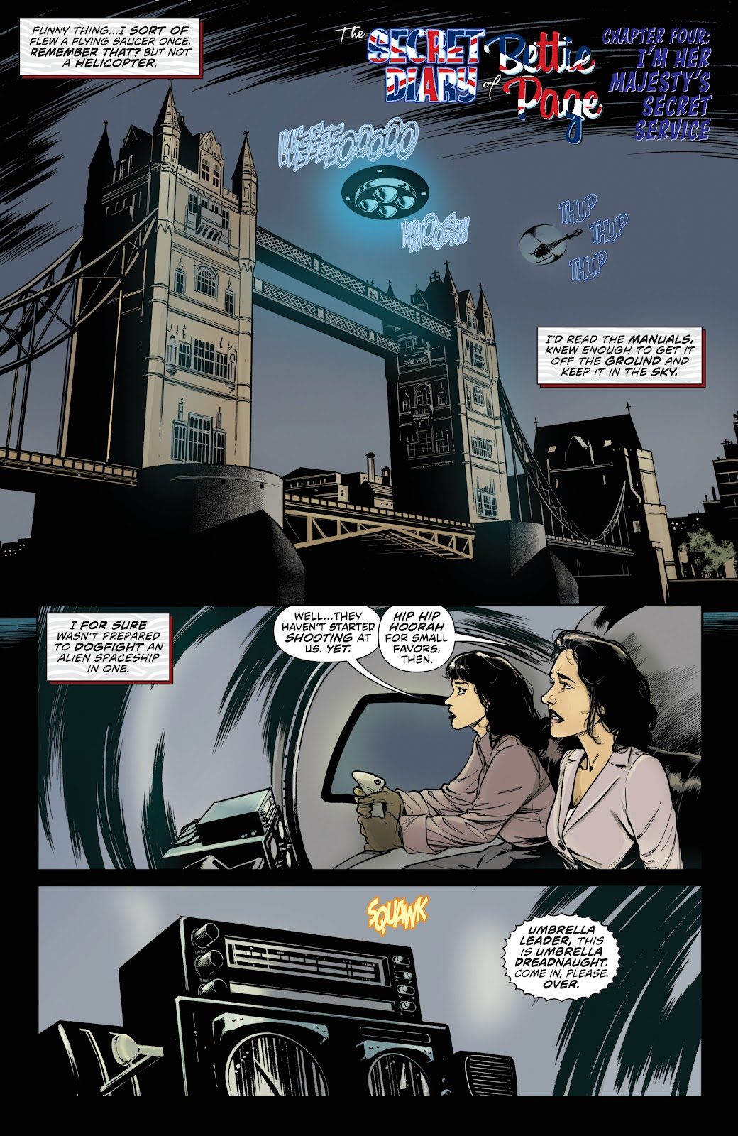 Read online Bettie Page (2018) comic -  Issue #4 - 7