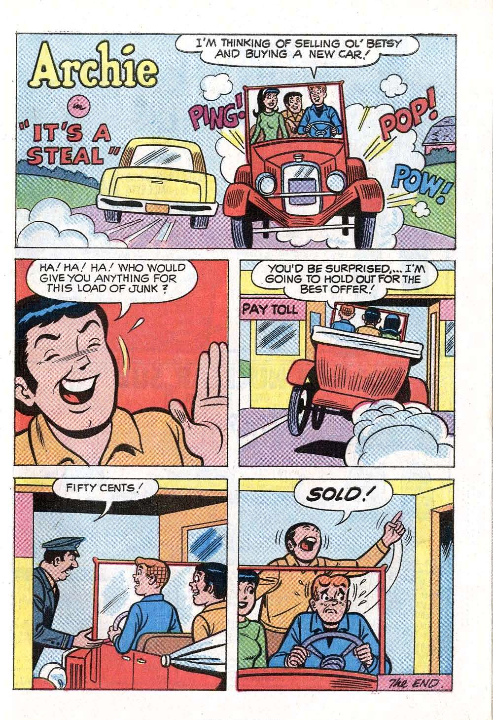 Read online Archie (1960) comic -  Issue #199 - 27