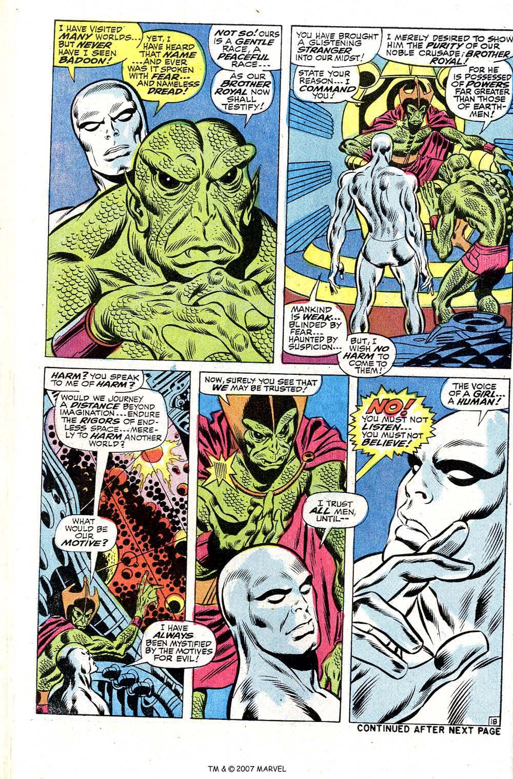 Read online Silver Surfer (1968) comic -  Issue #2 - 24