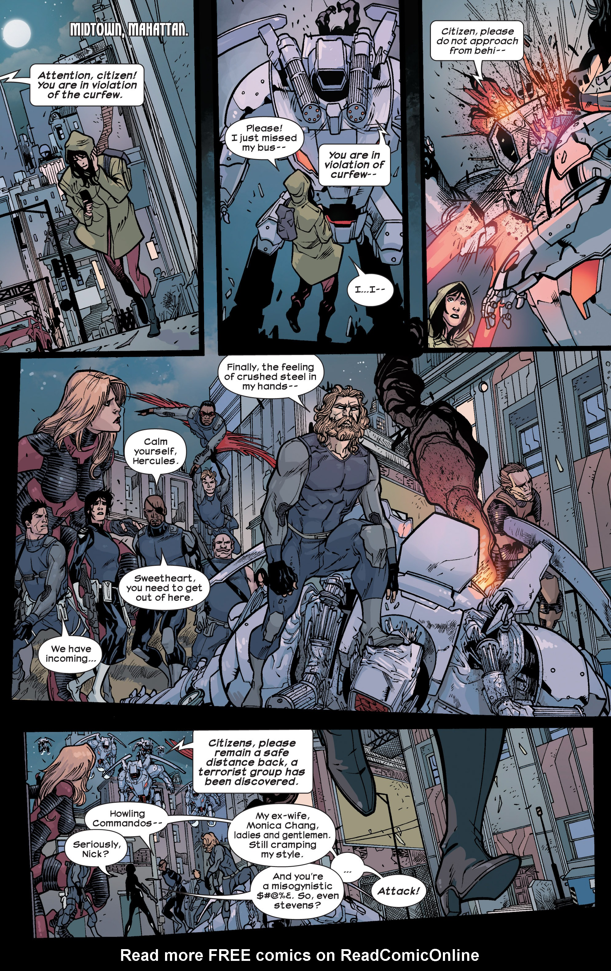 Read online Ultimate Comics Ultimates comic -  Issue #28 - 15