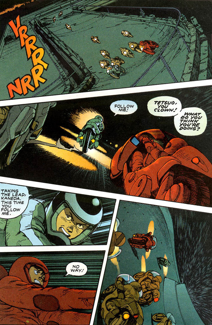 Read online Akira comic -  Issue #1 - 18
