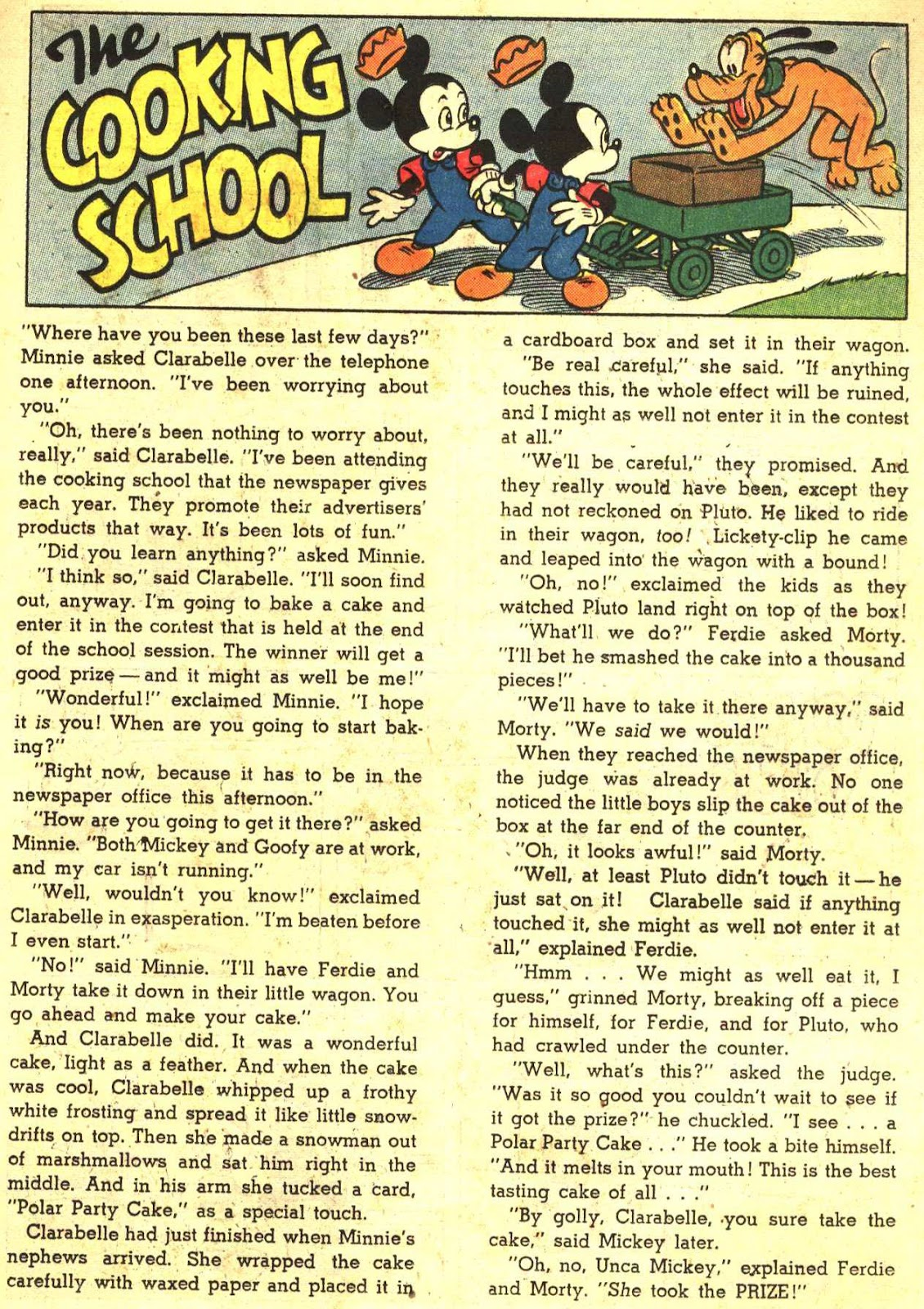 Walt Disney's Comics and Stories issue 193 - Page 23
