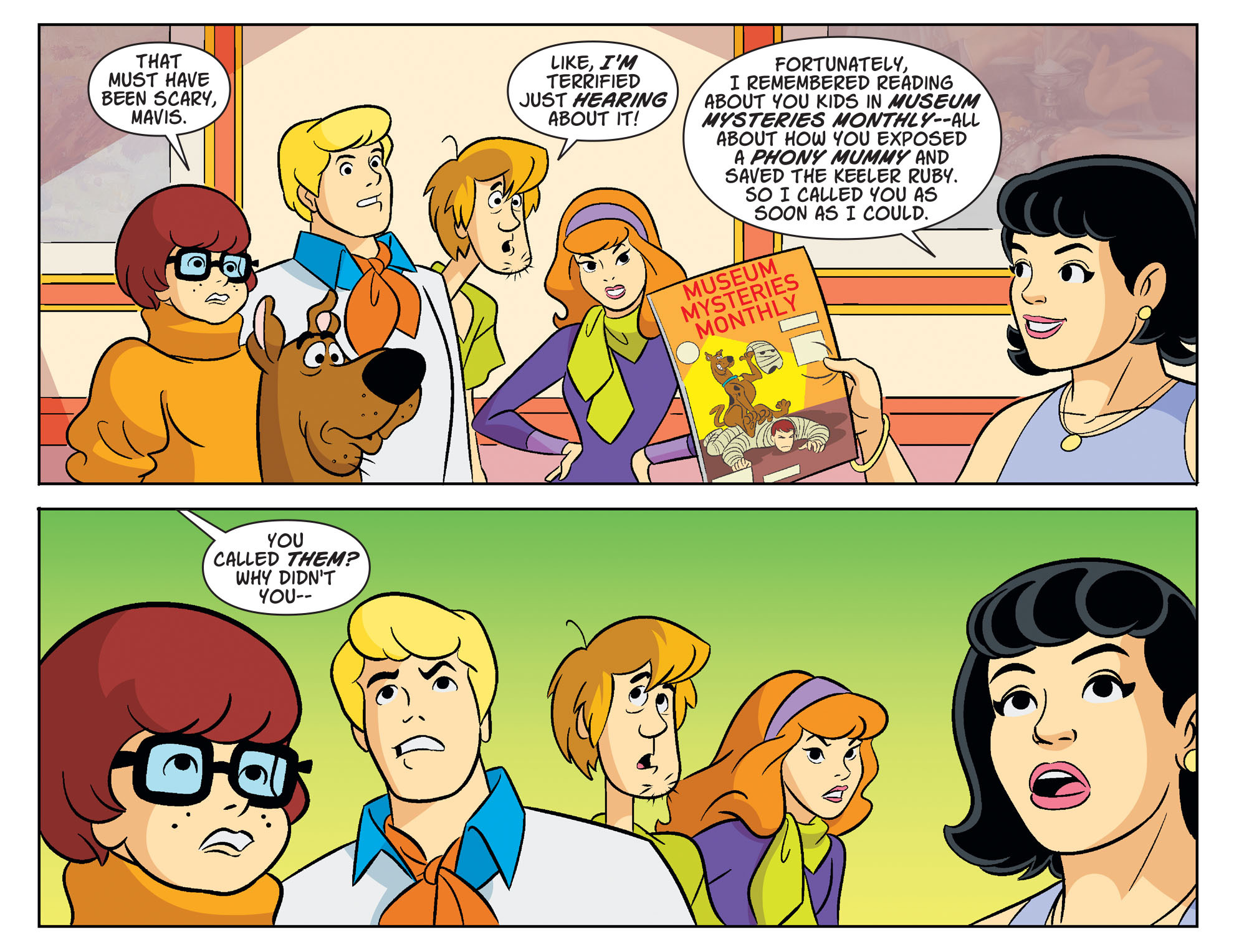 Read online Scooby-Doo! Team-Up comic -  Issue #33 - 6