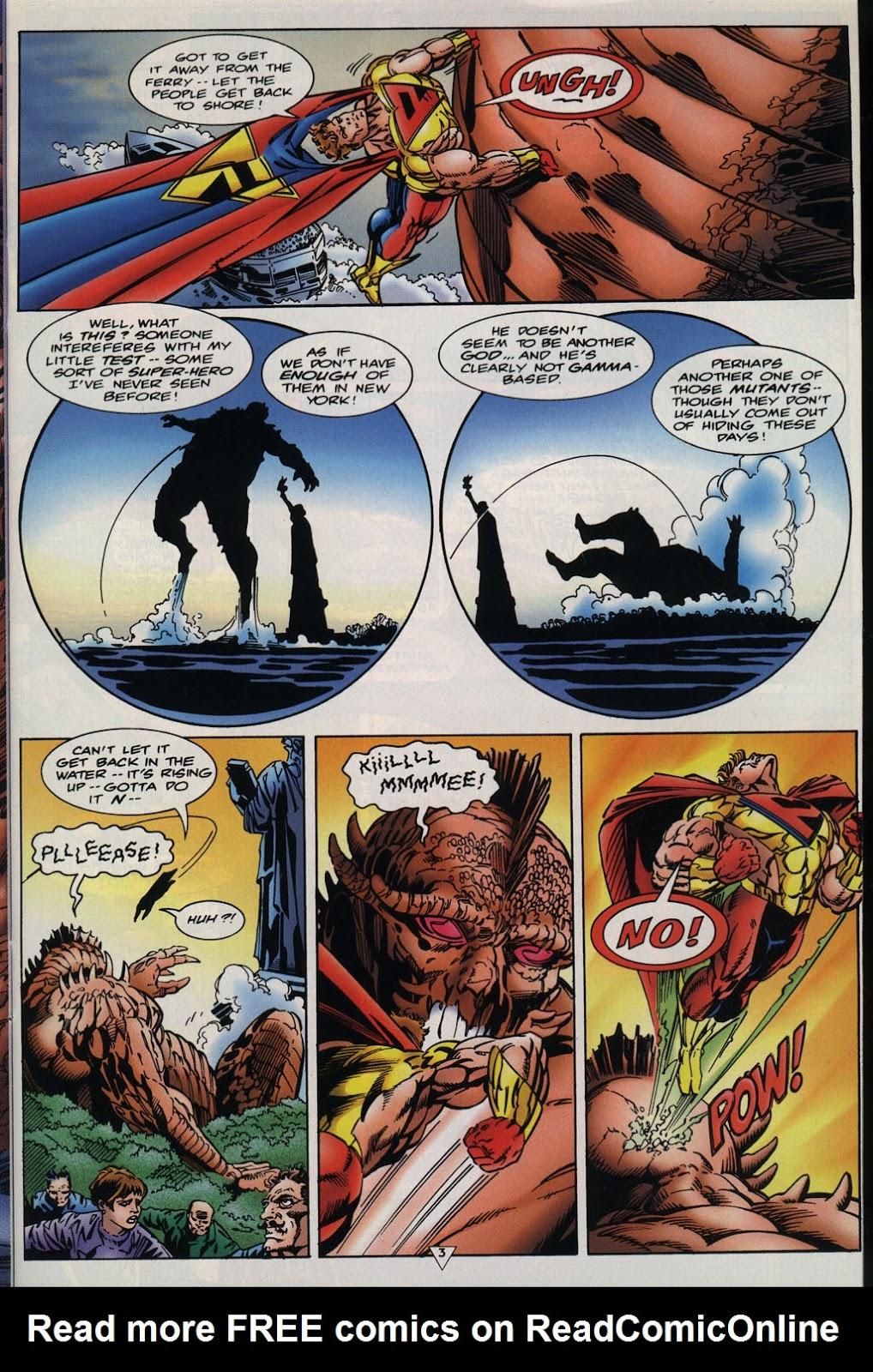Read online Prime Vs. The Incredible Hulk comic -  Issue # Full - 6