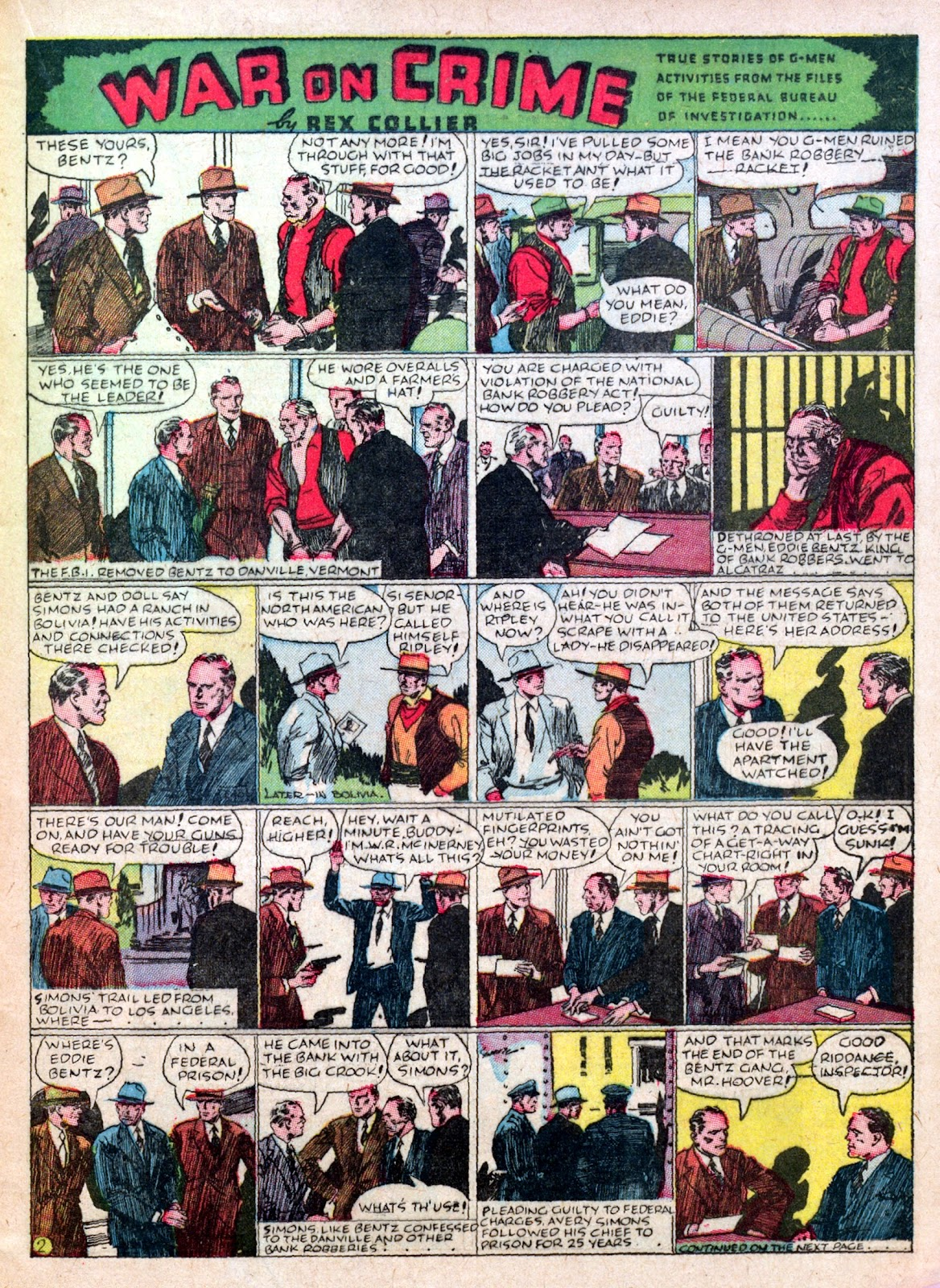 Read online Famous Funnies comic -  Issue #45 - 23