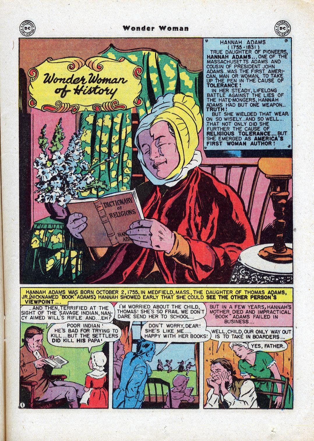Read online Wonder Woman (1942) comic -  Issue #18 - 19