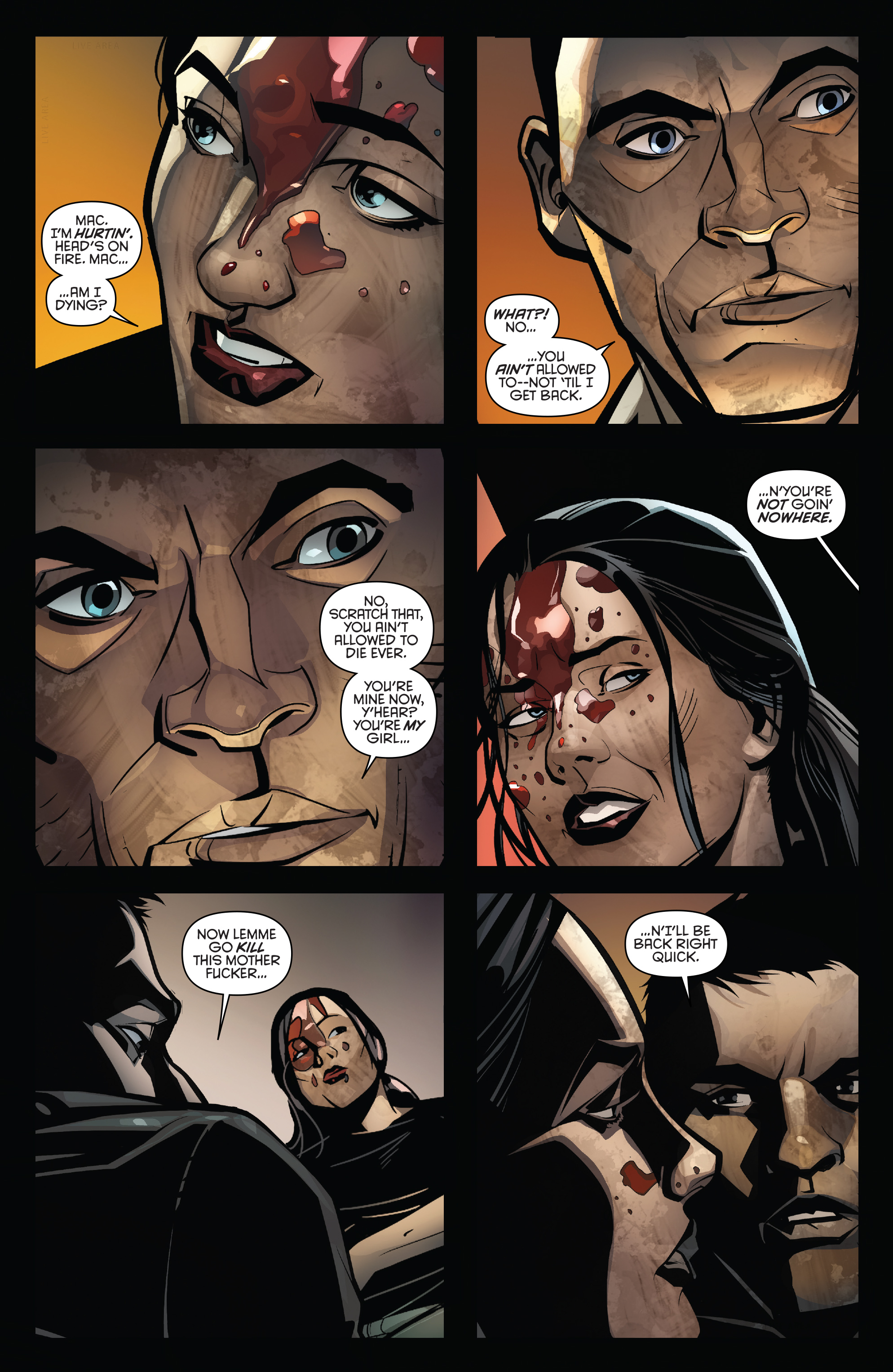 Read online Grand Passion comic -  Issue #5 - 12