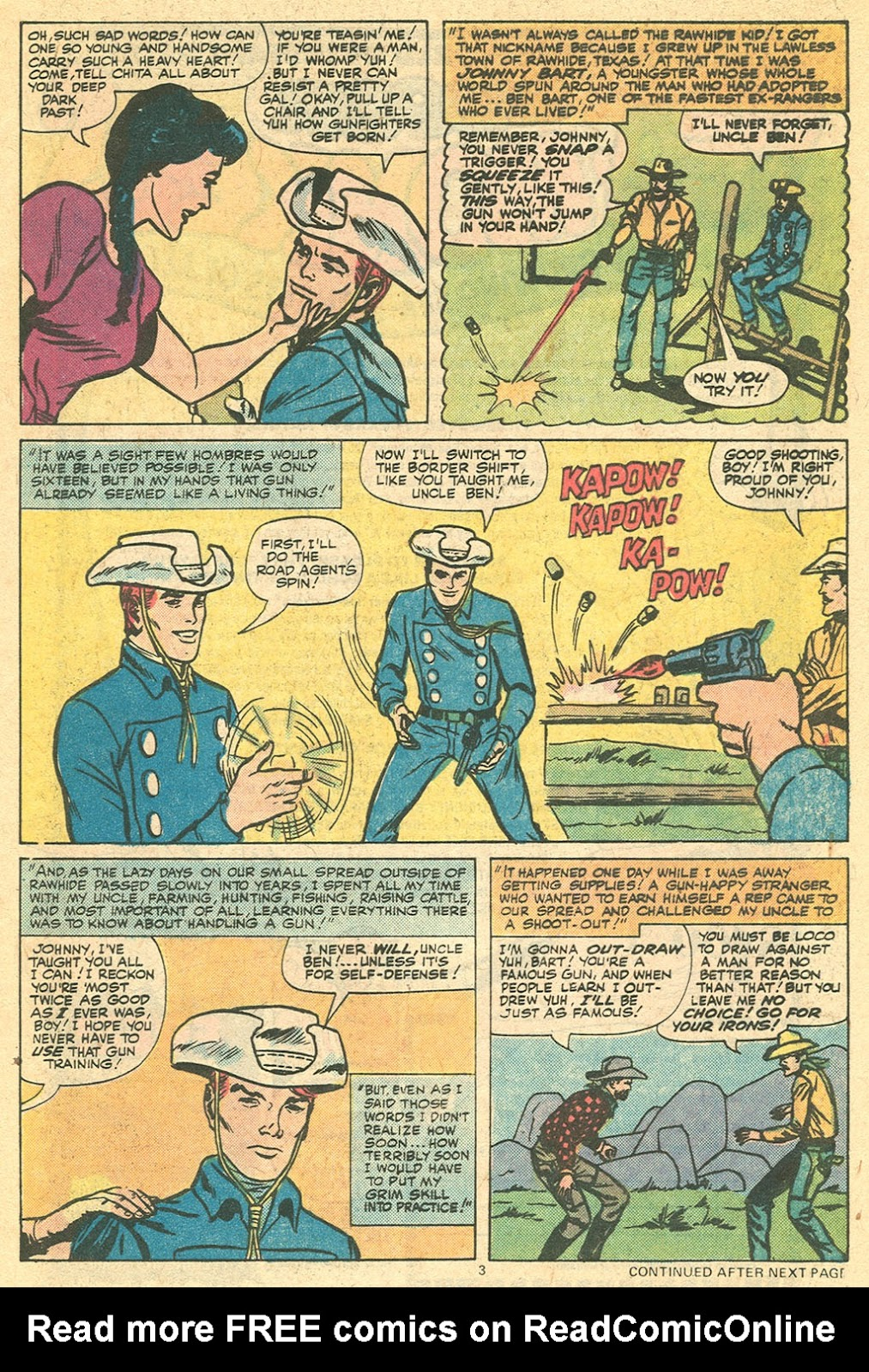 The Rawhide Kid (1955) issue 143 - Page 5
