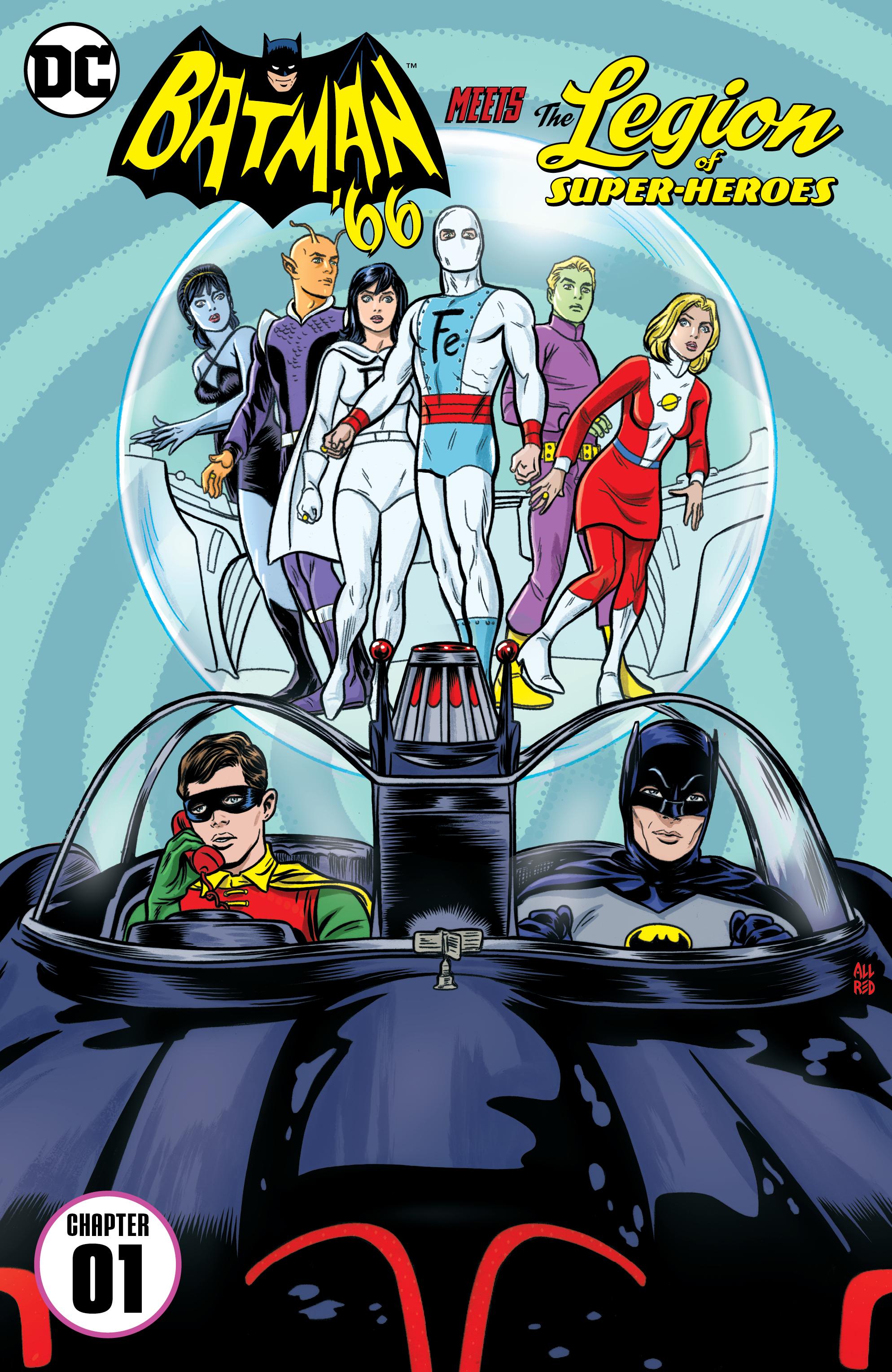 Read online Batman '66 Meets the Legion of Super-Heroes comic -  Issue #1 - 2