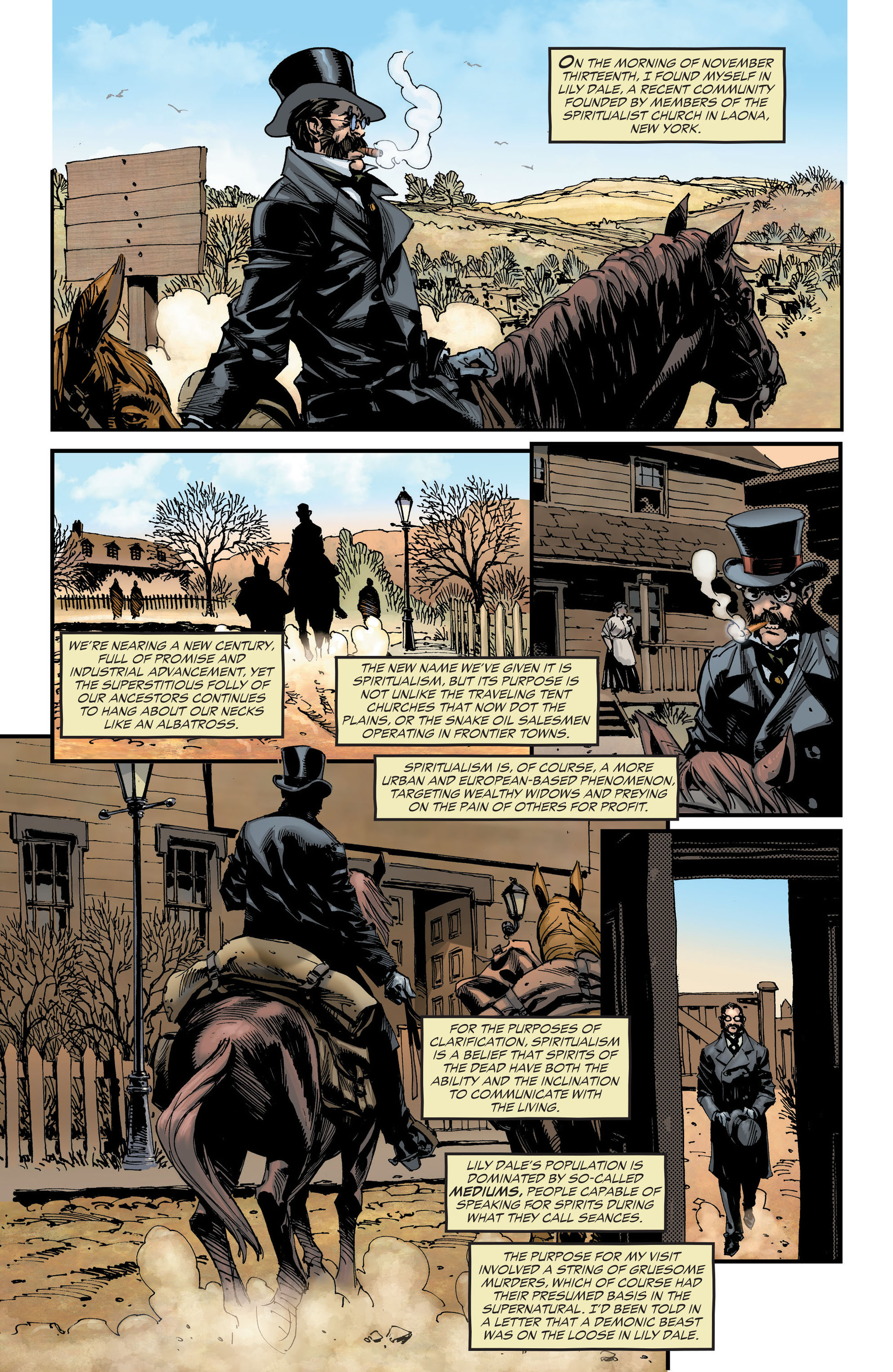 Read online All-Star Western (2011) comic -  Issue #18 - 24