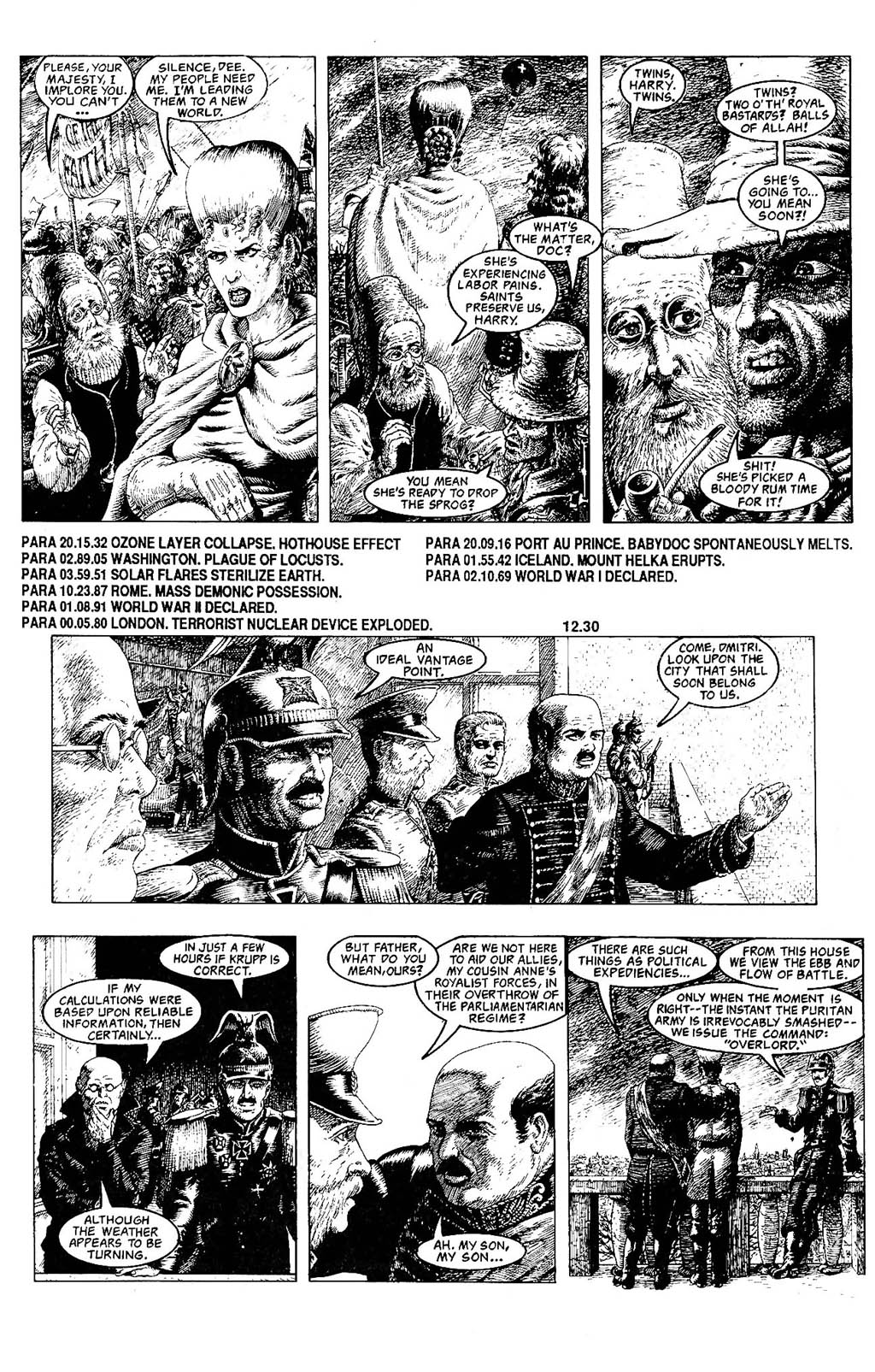 Read online The Adventures of Luther Arkwright comic -  Issue #8 - 14