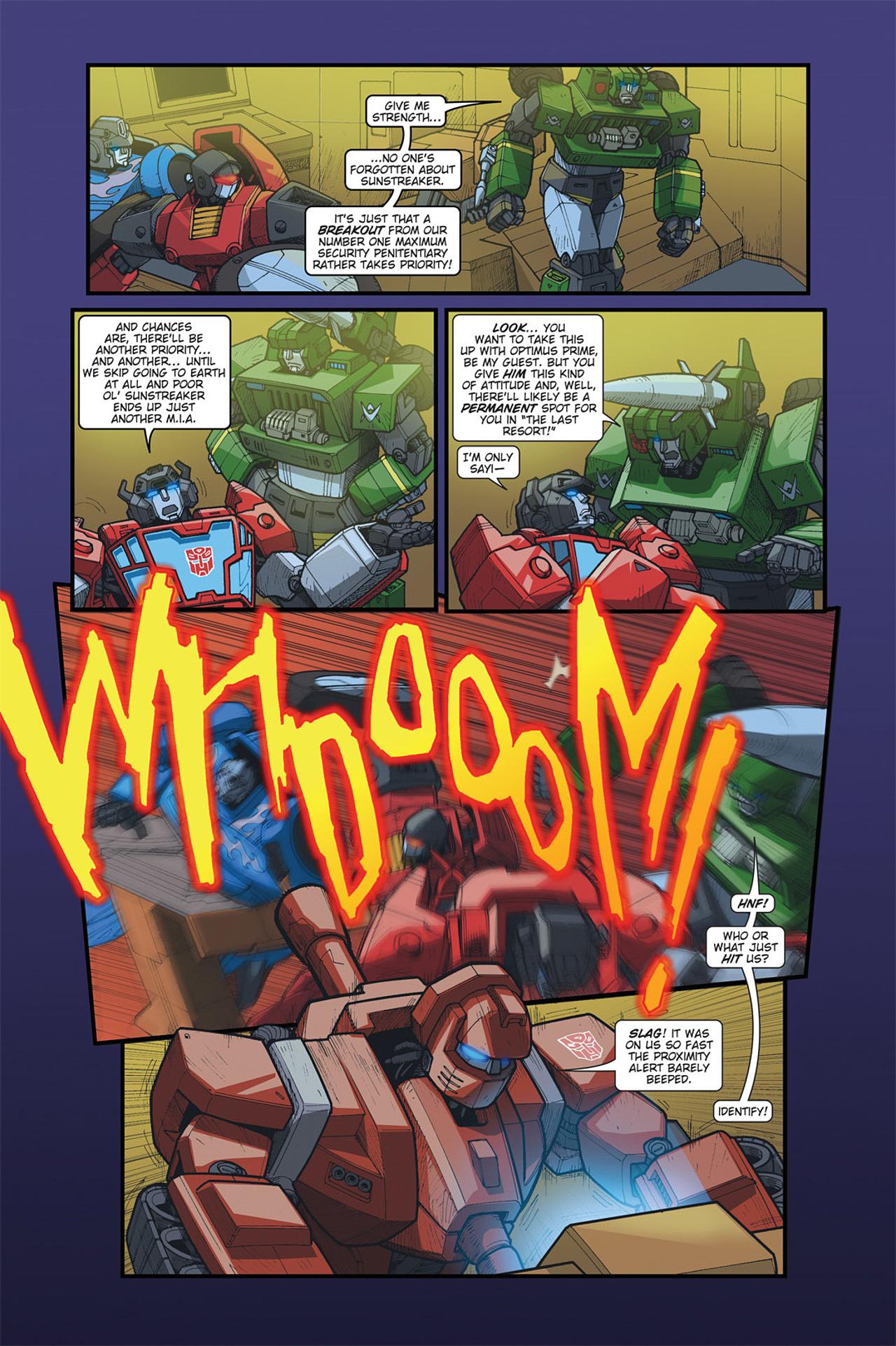 Read online Transformers Spotlight: Cyclonus comic -  Issue # Full - 8