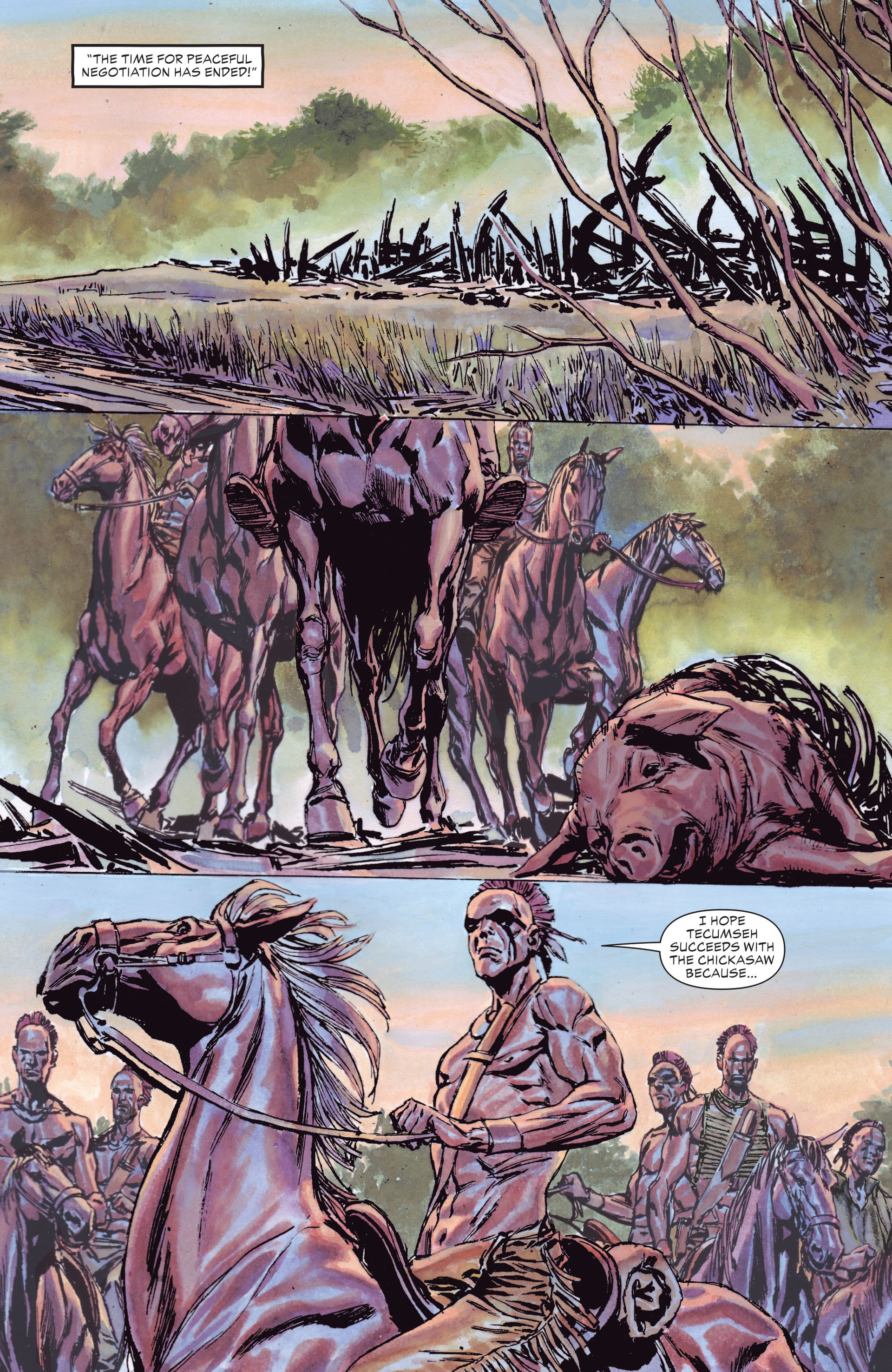 Read online All-Star Western (2011) comic -  Issue #13 - 30