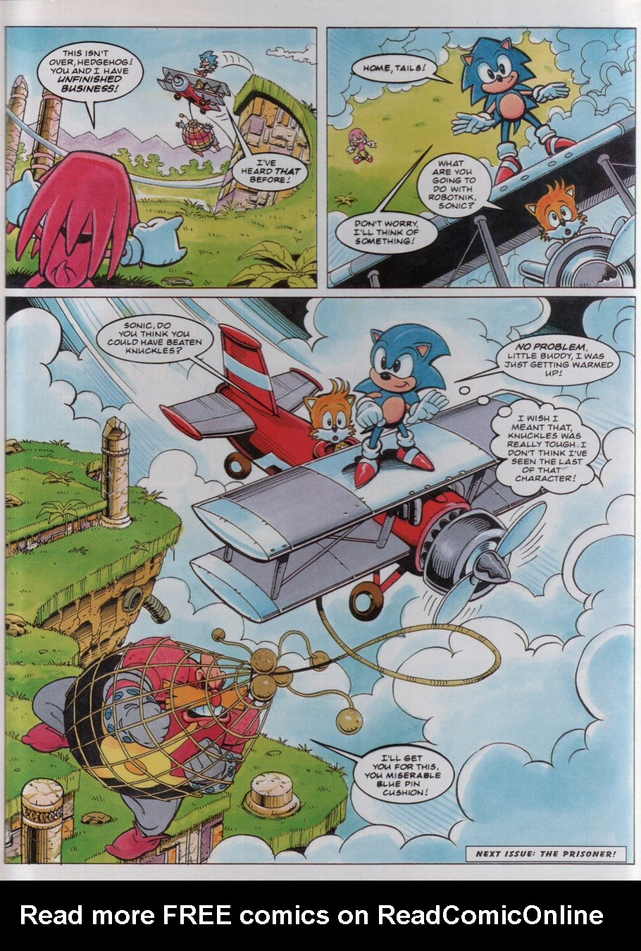 Read online Sonic the Comic comic -  Issue #34 - 9