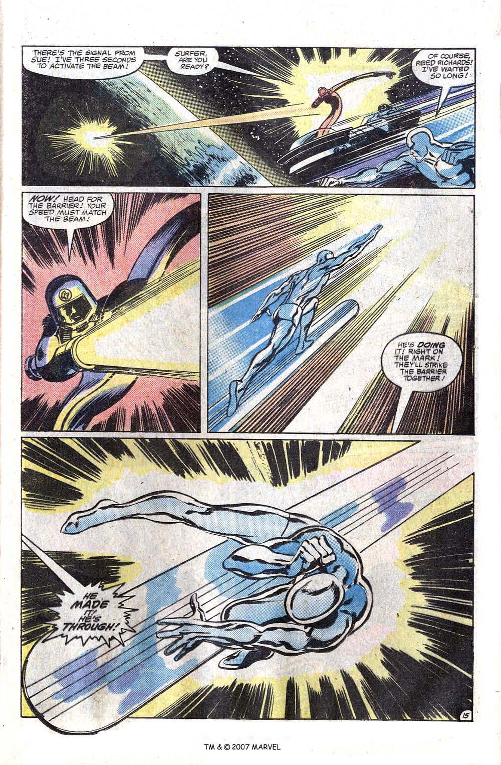 Read online Silver Surfer (1982) comic -  Issue # Full - 17