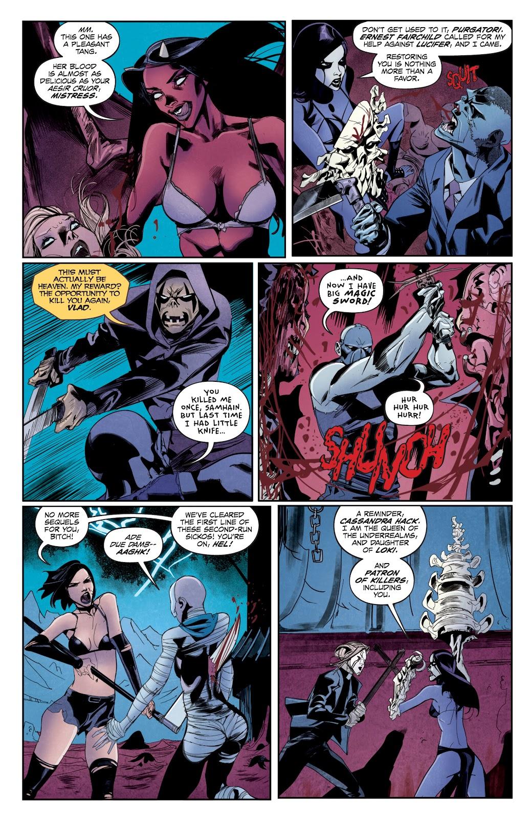 Read online Hack/Slash vs. Chaos comic -  Issue #5 - 7