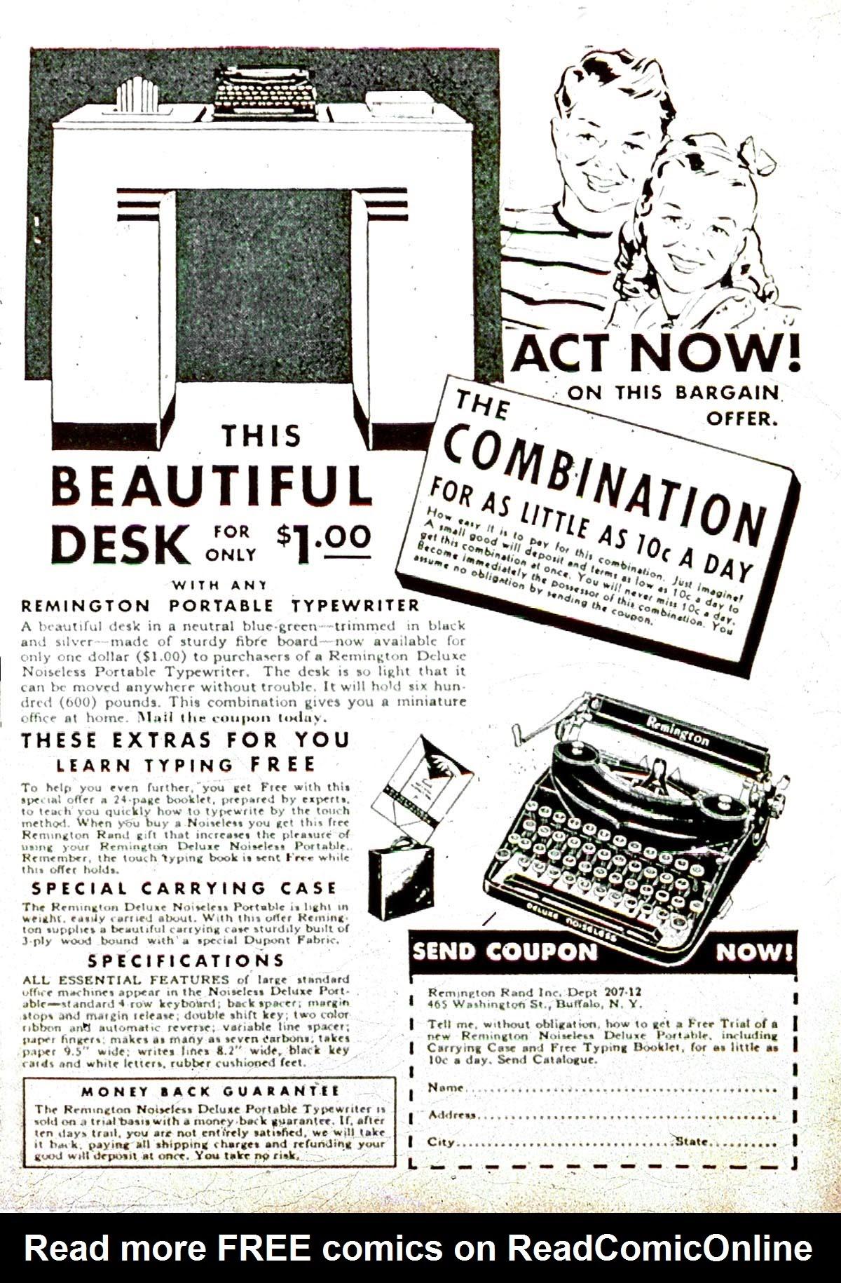Read online Amazing Man Comics comic -  Issue #8 - 67