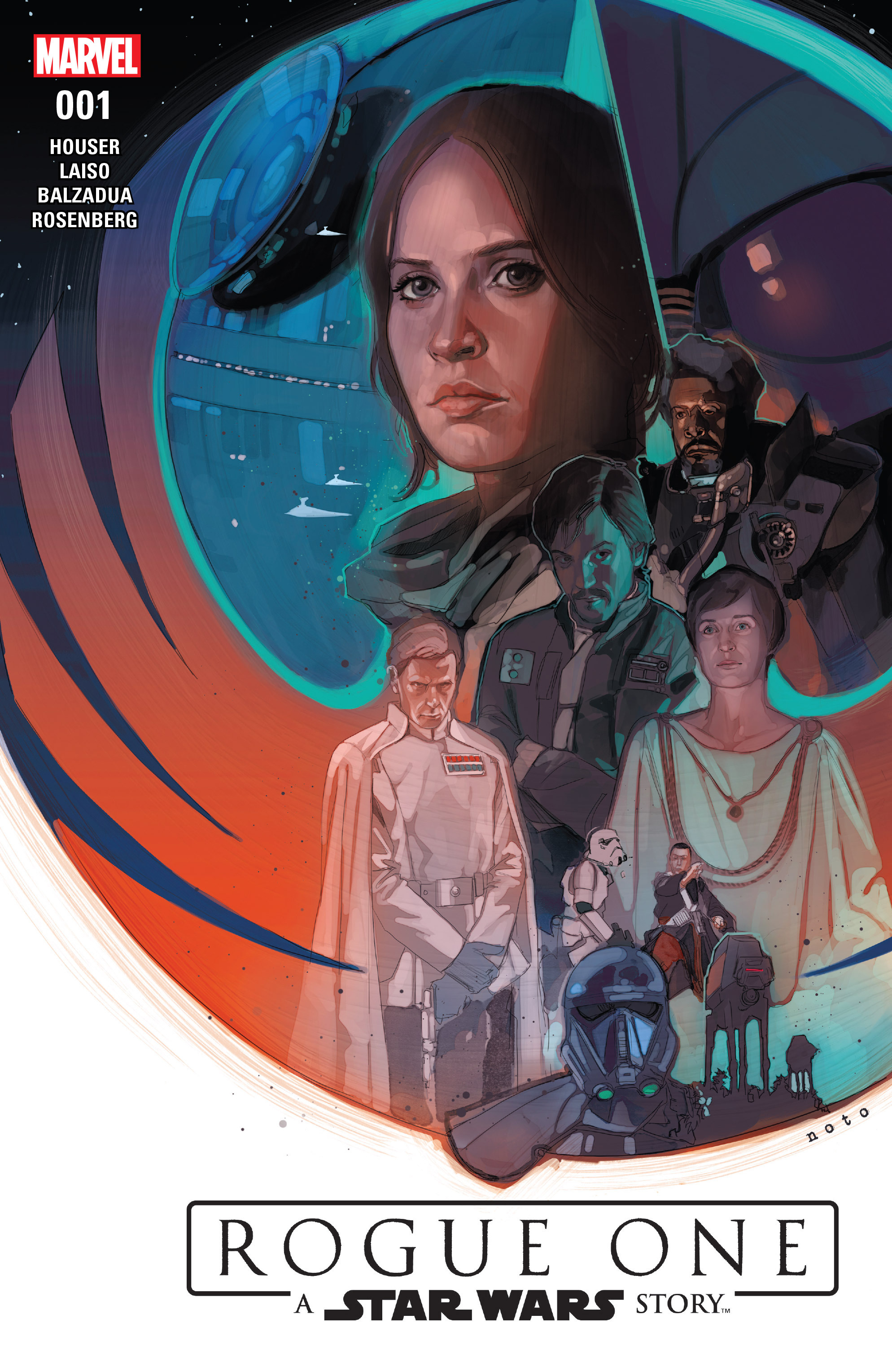 Read online Star Wars: Rogue One Adaptation comic -  Issue #1 - 1