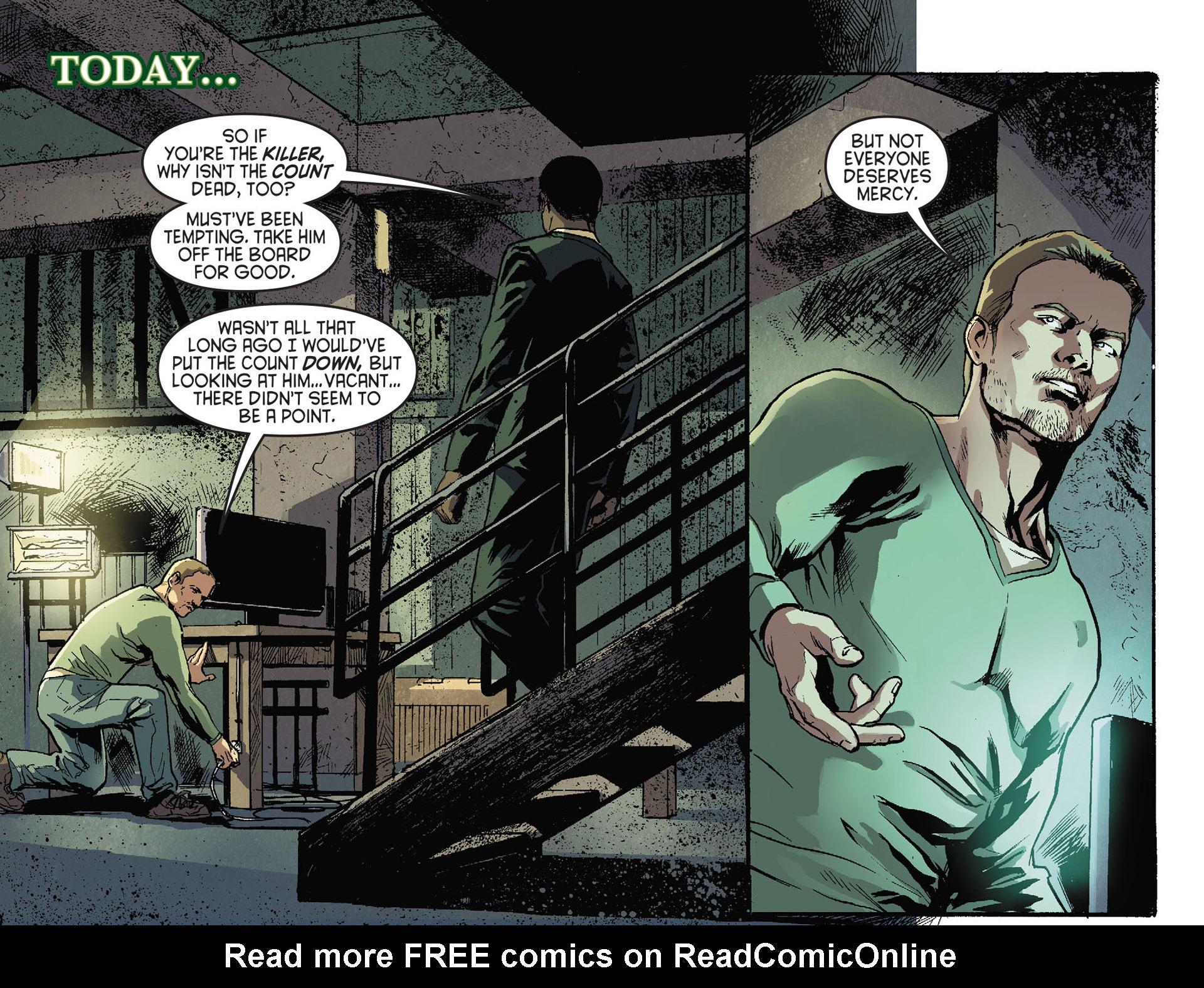 Read online Arrow [II] comic -  Issue #28 - 21