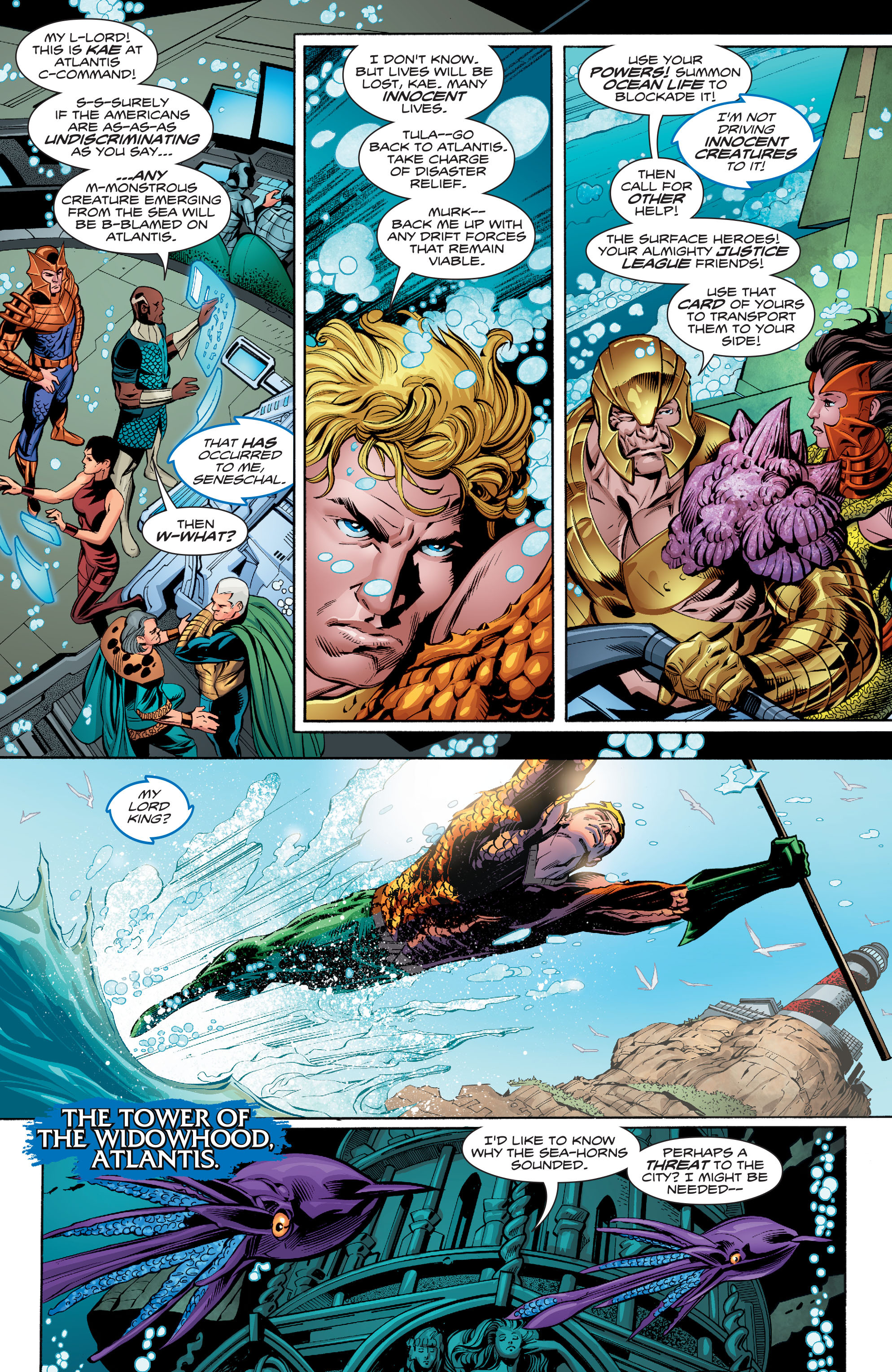 Read online Aquaman (2016) comic -  Issue #9 - 9