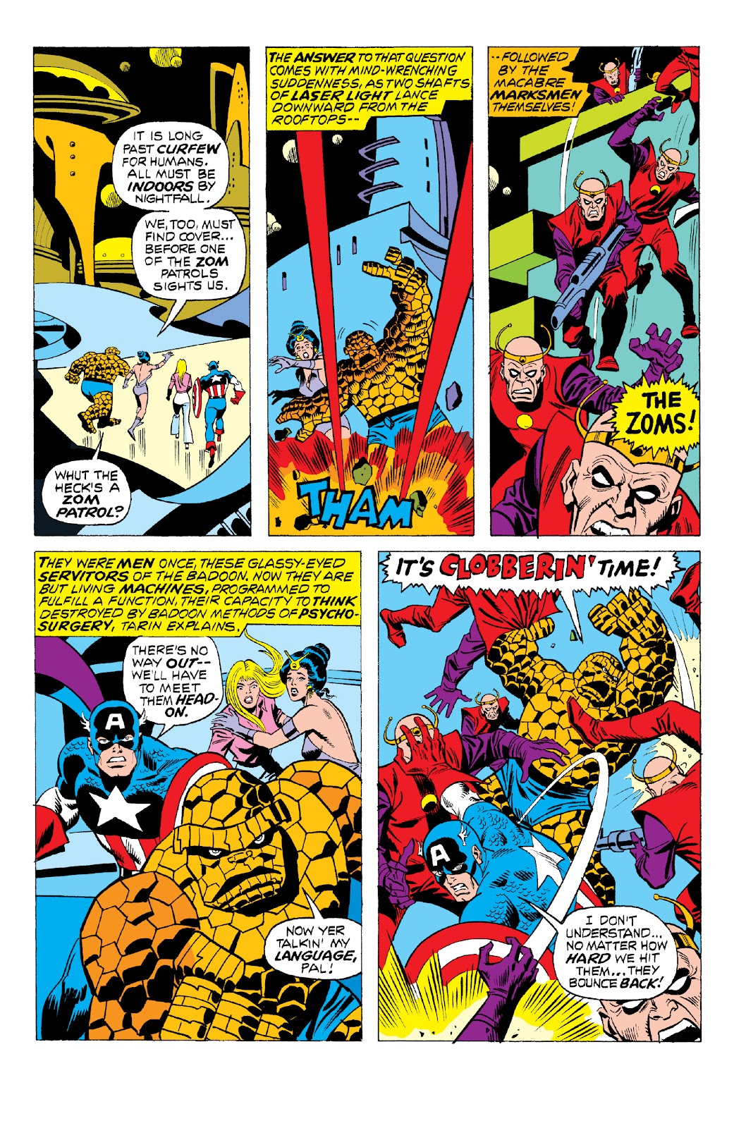 Read online Marvel Two-In-One Epic Collection: Cry Monster comic -  Issue # TPB (Part 2) - 19