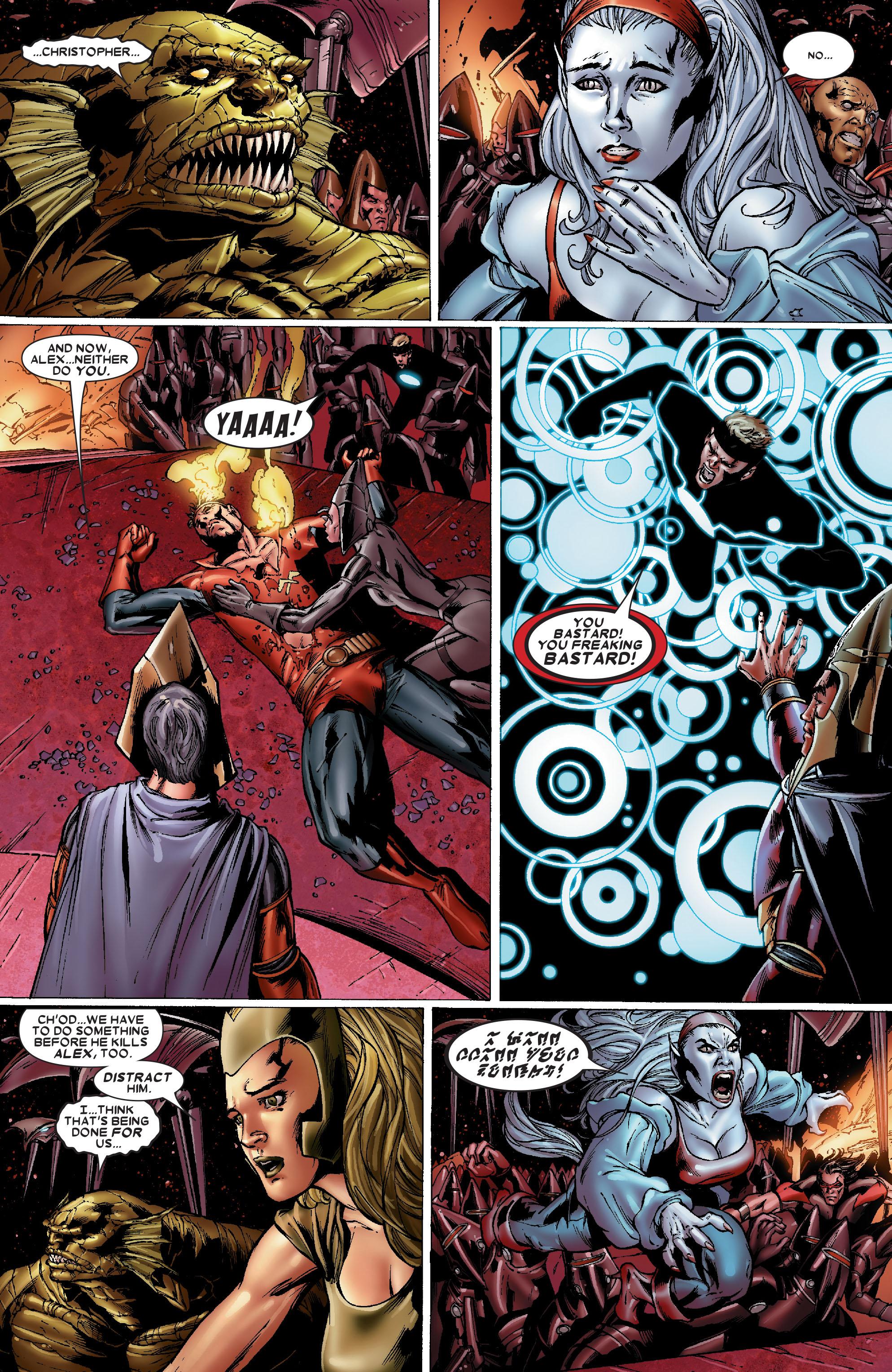 Read online Uncanny X-Men (1963) comic -  Issue #486 - 7