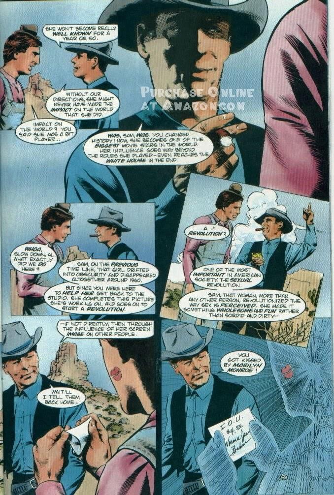 Read online Quantum Leap comic -  Issue #12 - 24