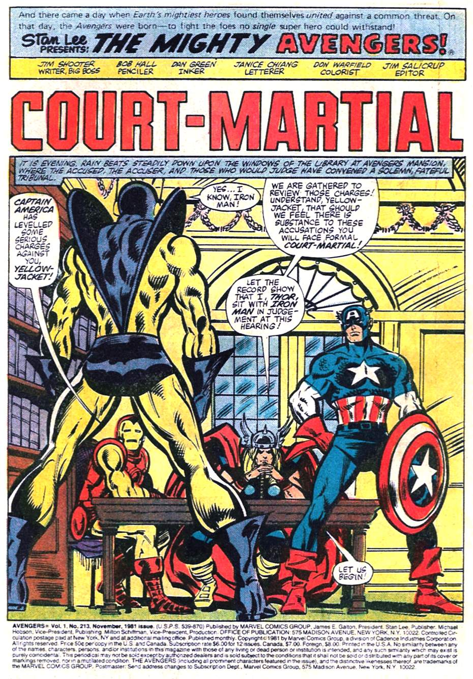 The Avengers (1963) 213 Page 1