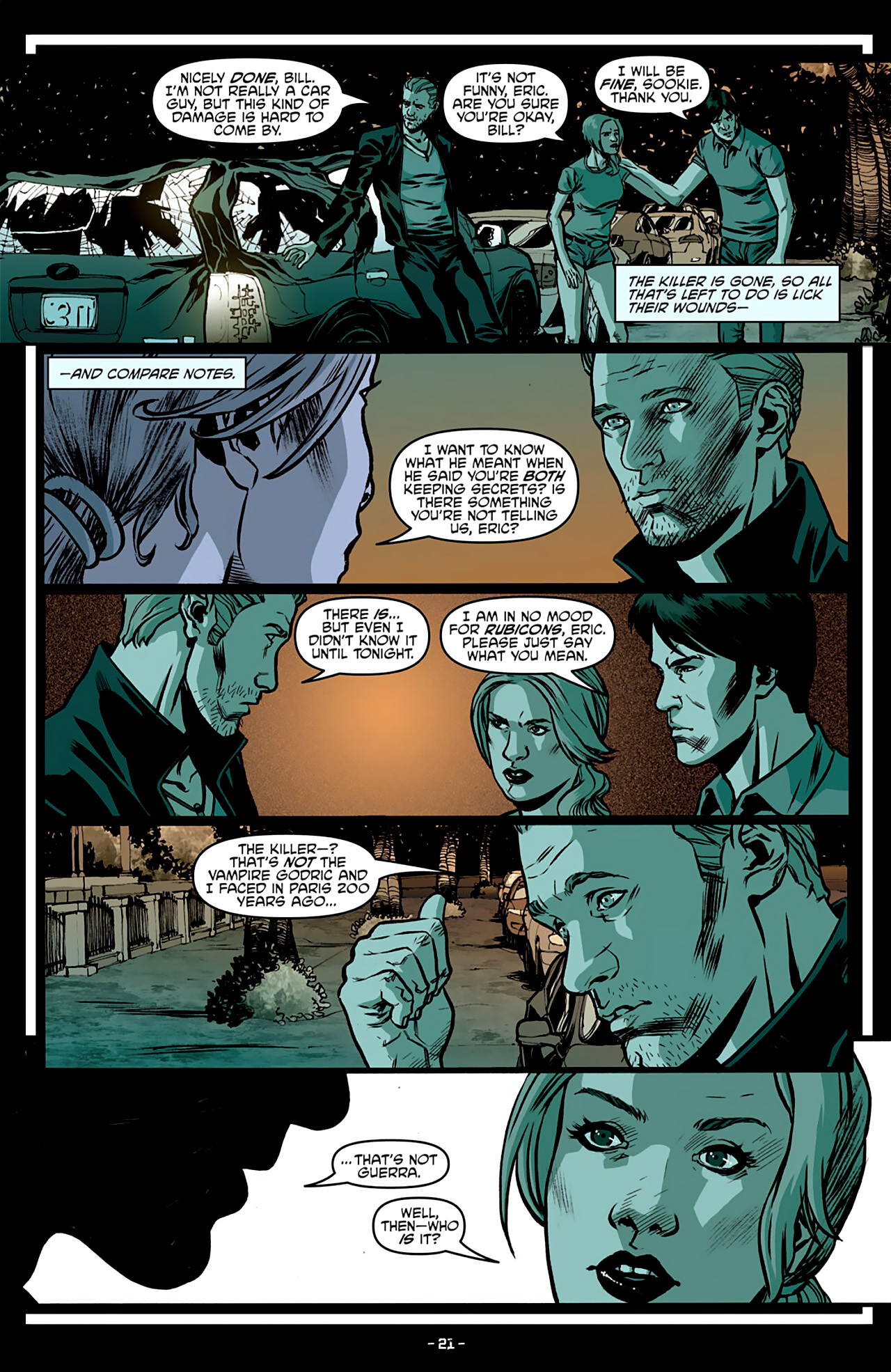 Read online True Blood: French Quarter comic -  Issue #3 - 25