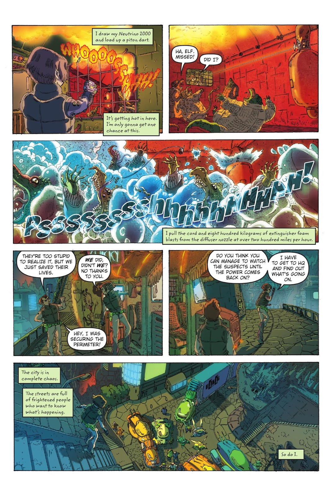 Artemis Fowl: The Eternity Code issue TPB - Page 21