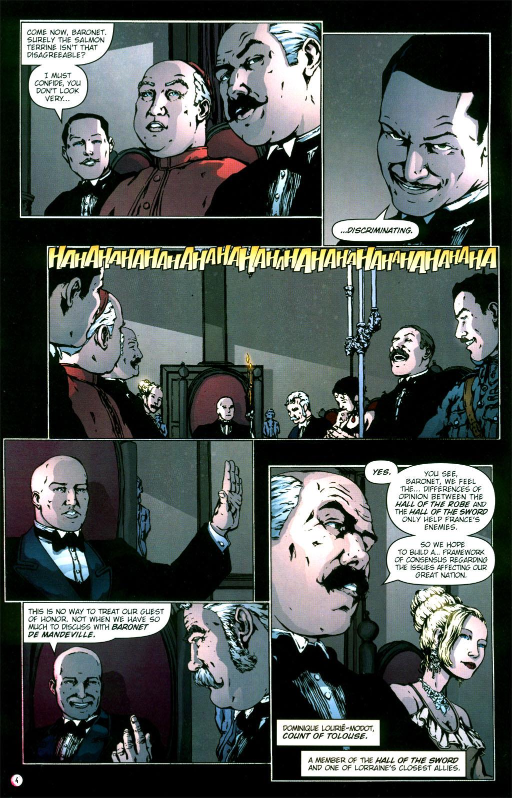Read online Rex Mundi comic -  Issue #5 - 6