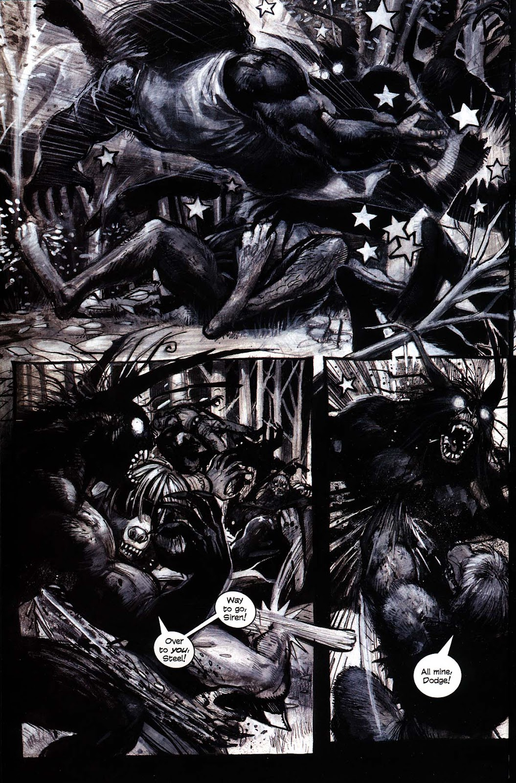 Read online Werewolf the Apocalypse comic -  Issue # Black Furies - 28