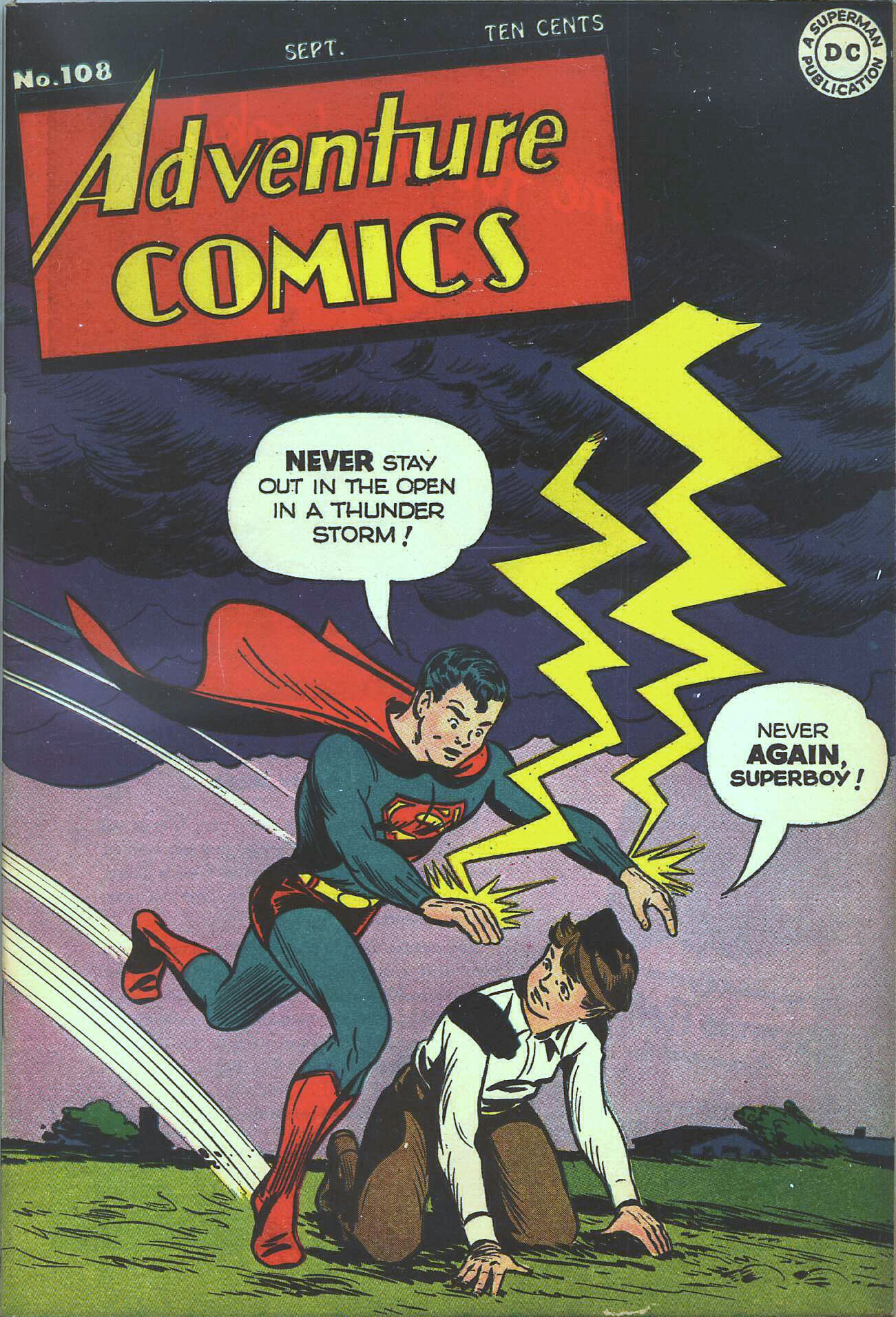 Read online Adventure Comics (1938) comic -  Issue #108 - 2