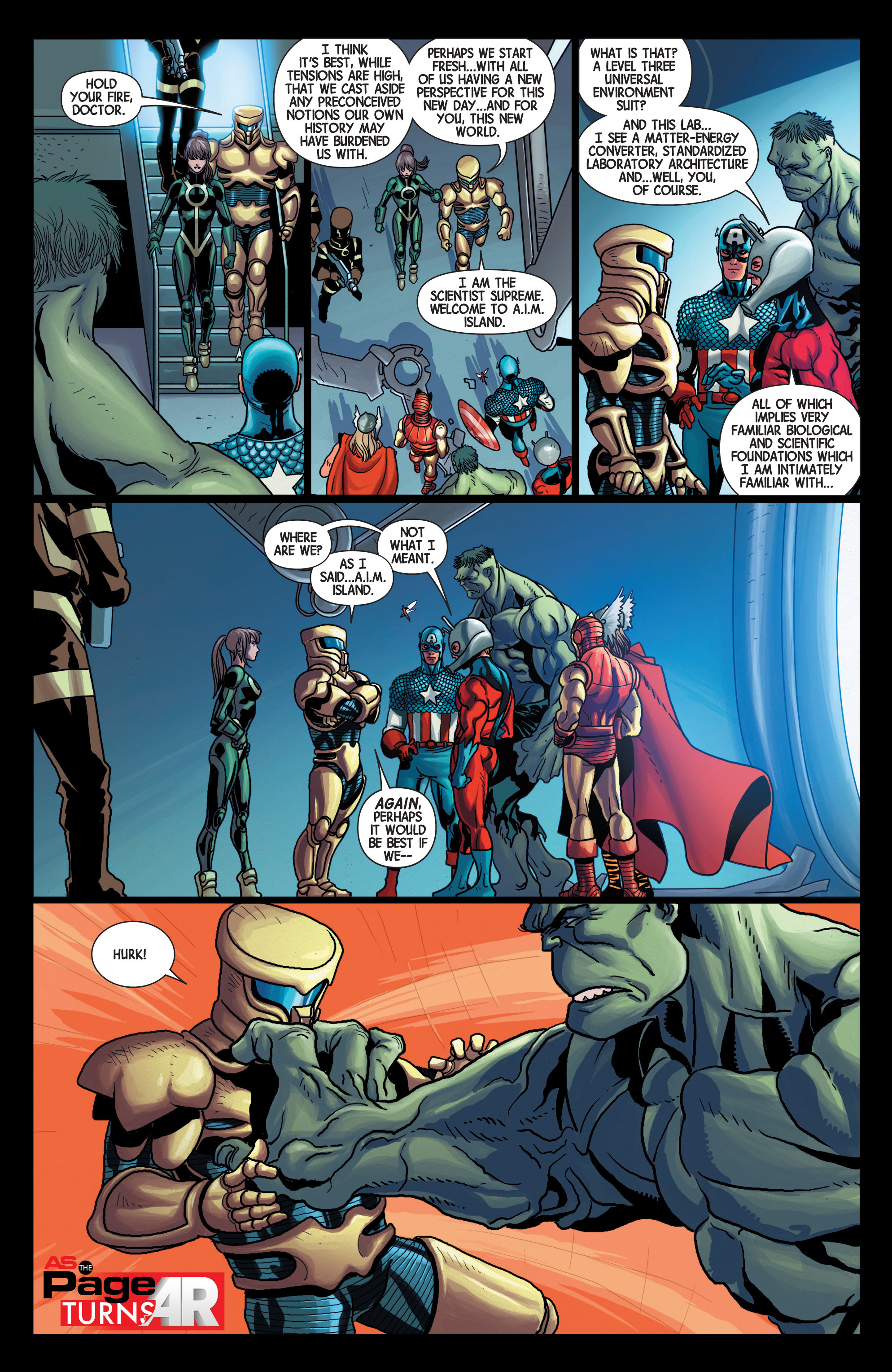 Read online Avengers (2013) comic -  Issue #Avengers (2013) _TPB 5 - 53